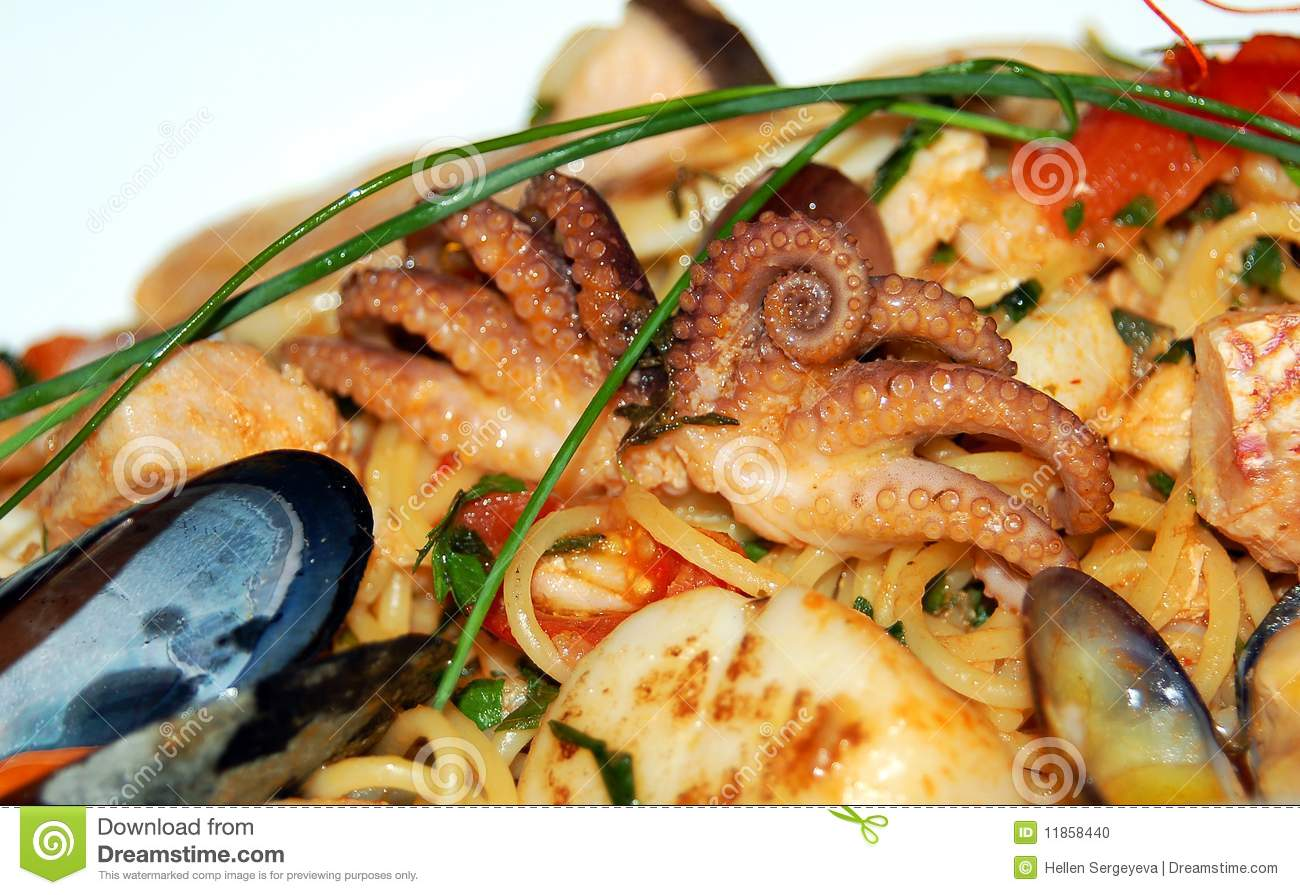 how to cook seafood mix