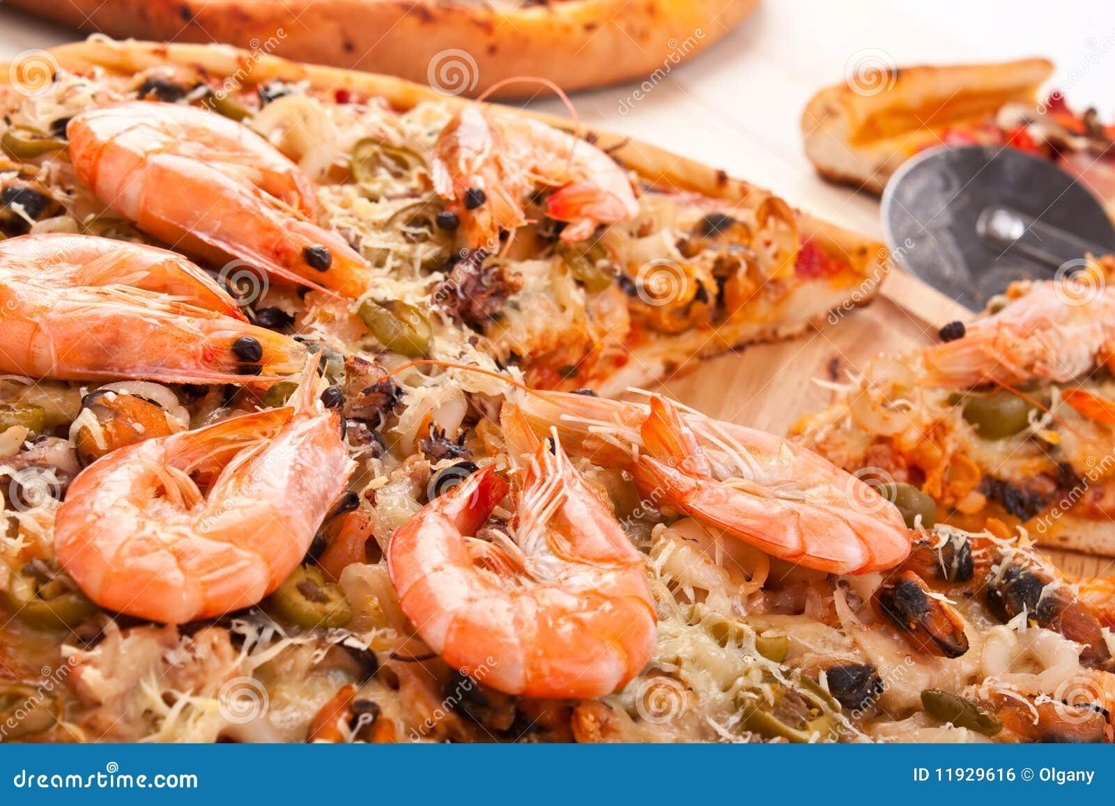 Как приготовить пиццу из морепродуктов