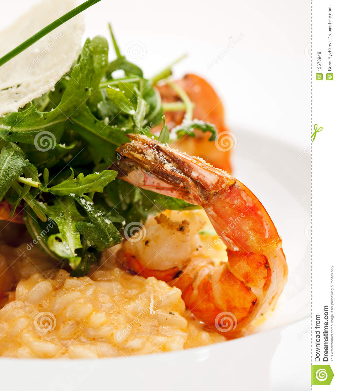 Seafood Risotto Stock Image. Image Of Eating, Lunch