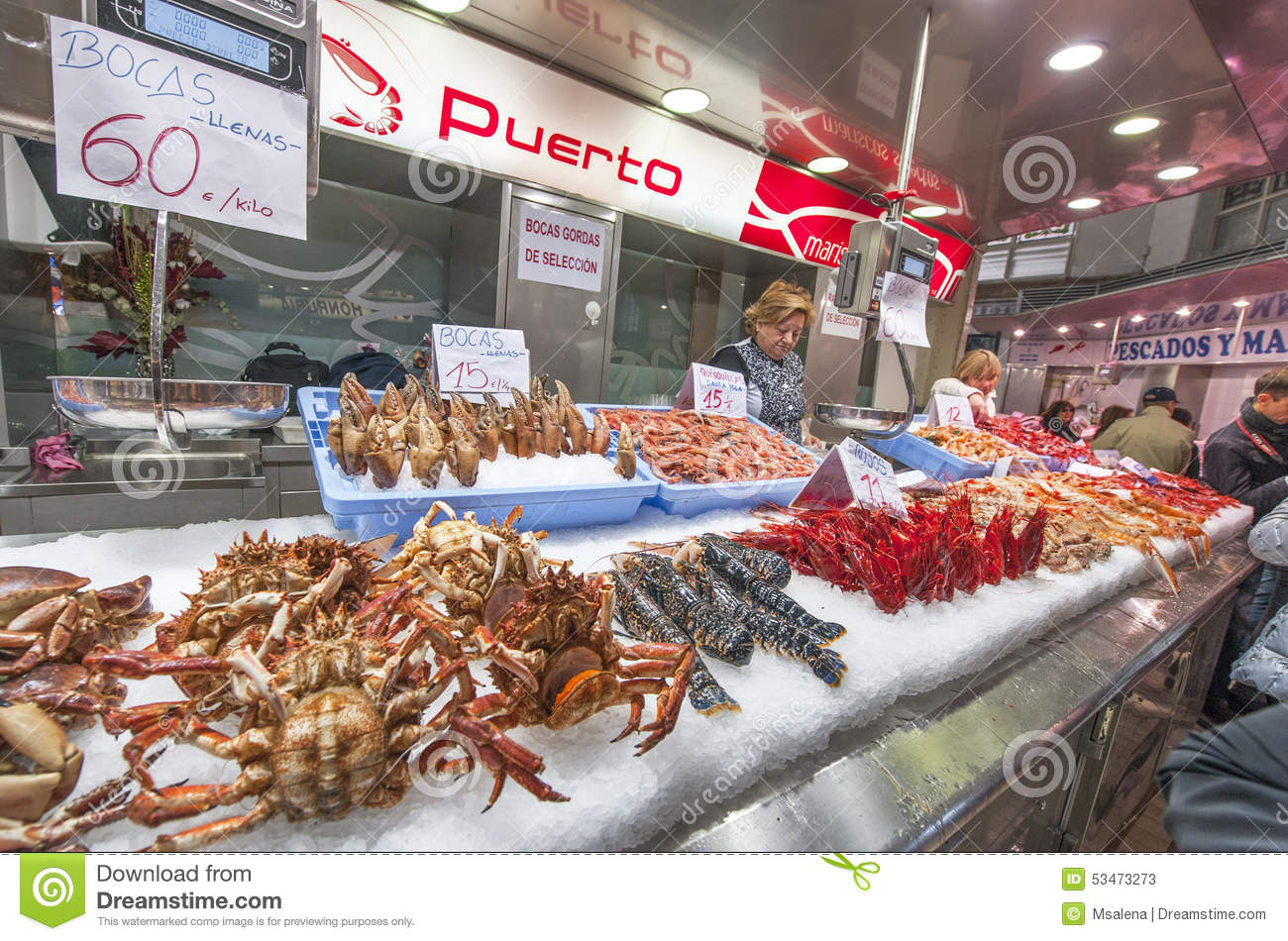 Image gallery seafood store for Central fish market
