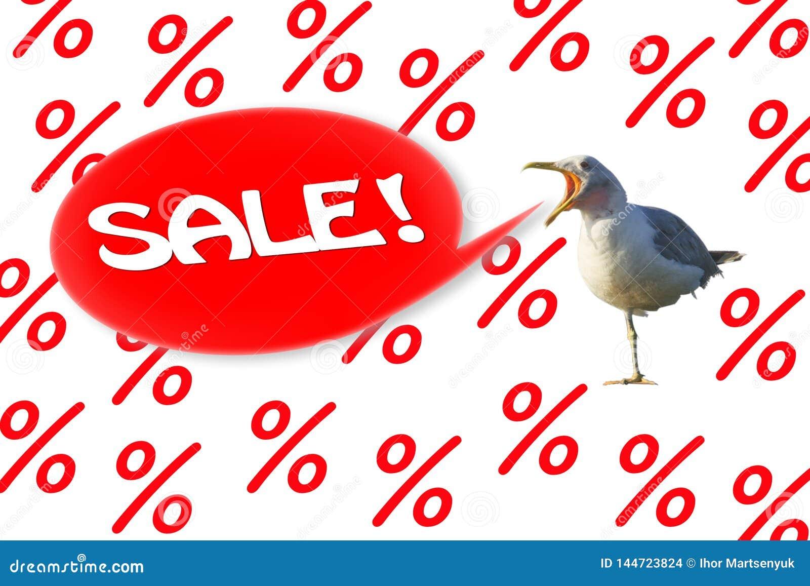Seagullropens försäljning 'på en bakgrund från procent