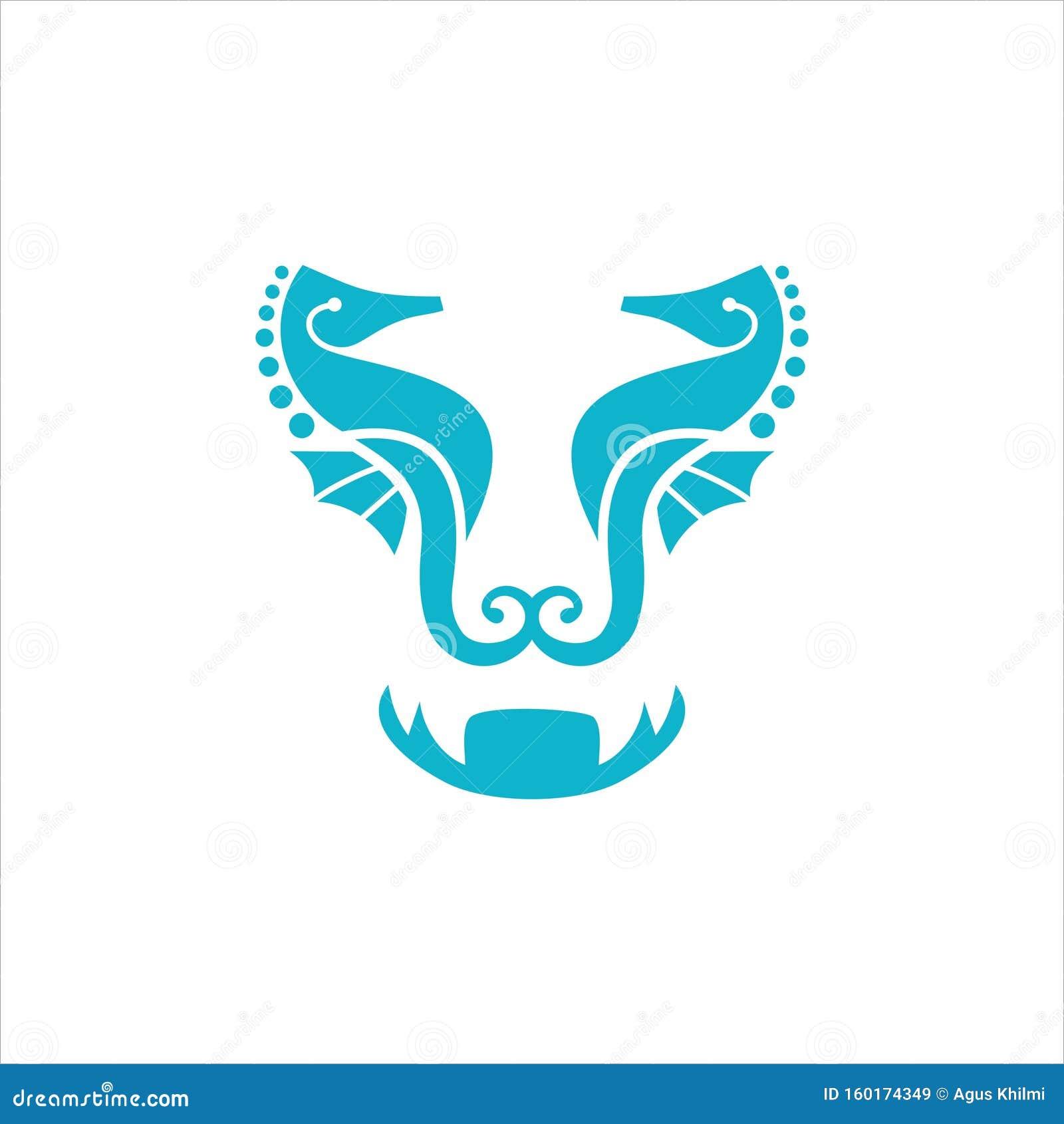 Seahorse Logo Design Vector Stock Vector Illustration Of Abstract Animal 160174349