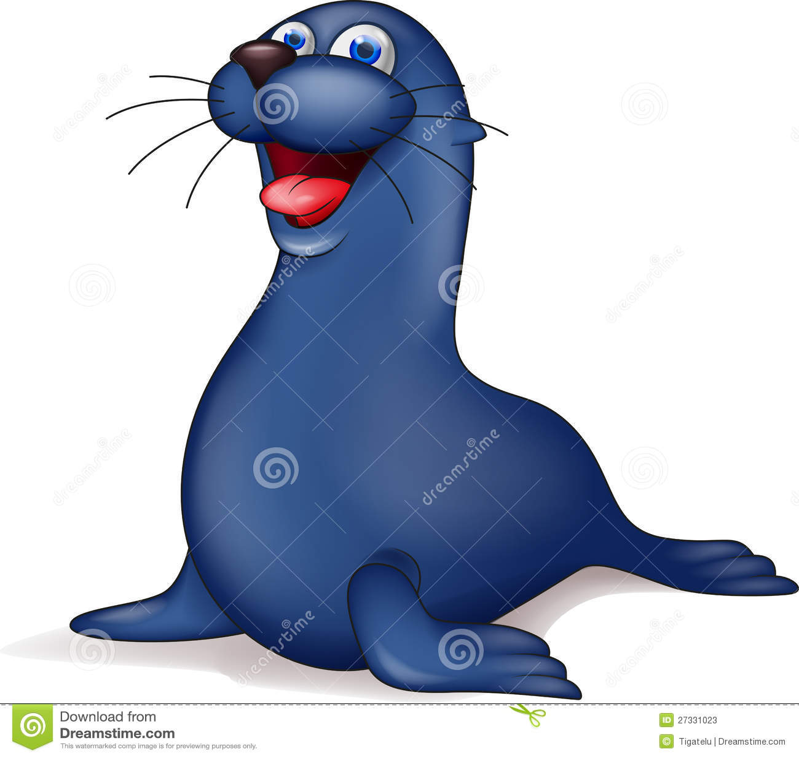 Seal Cartoon Stock Photos - Image: 27331023