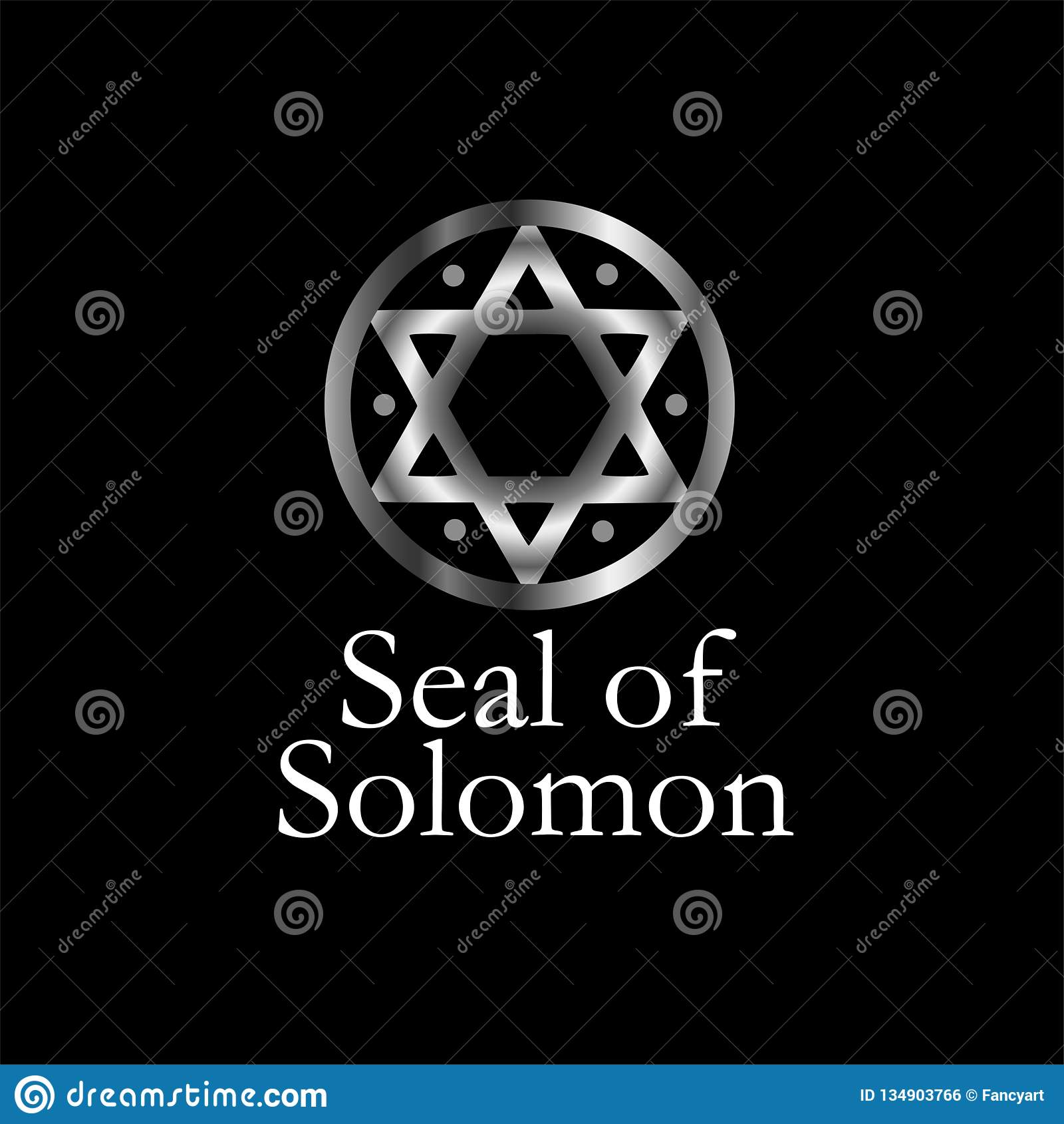 The seal of Solomon- a magical symbol or Hexagram