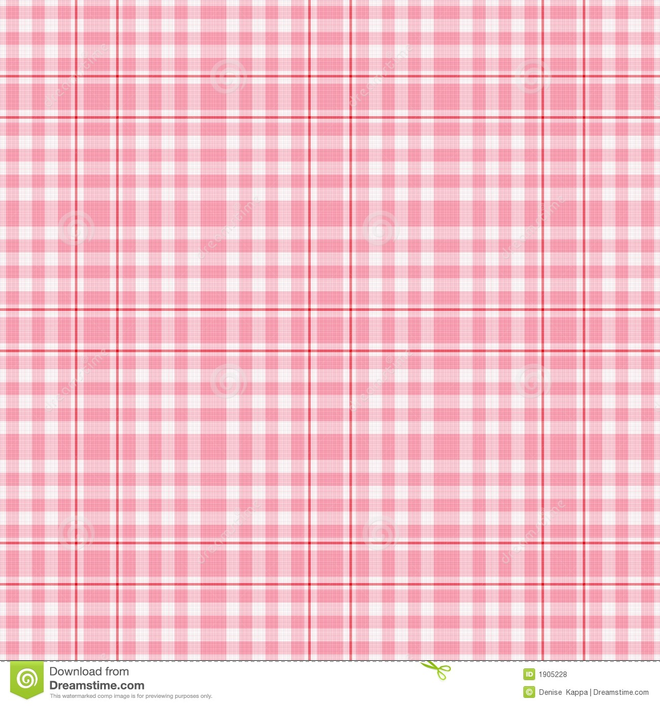 Seamles pink white plaid