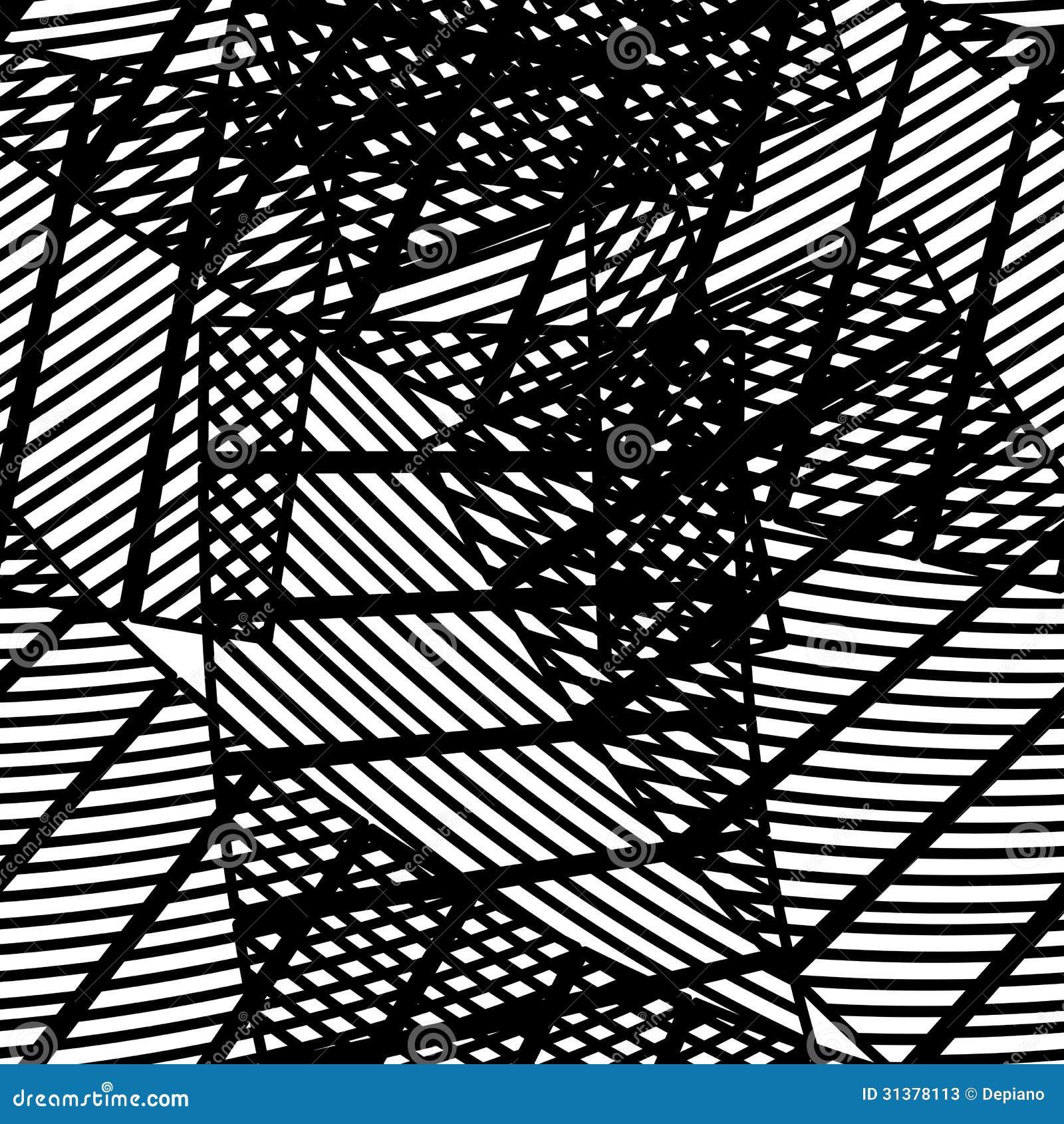 Seamless Abstract Geometric Pattern Stock Photos - Image ...