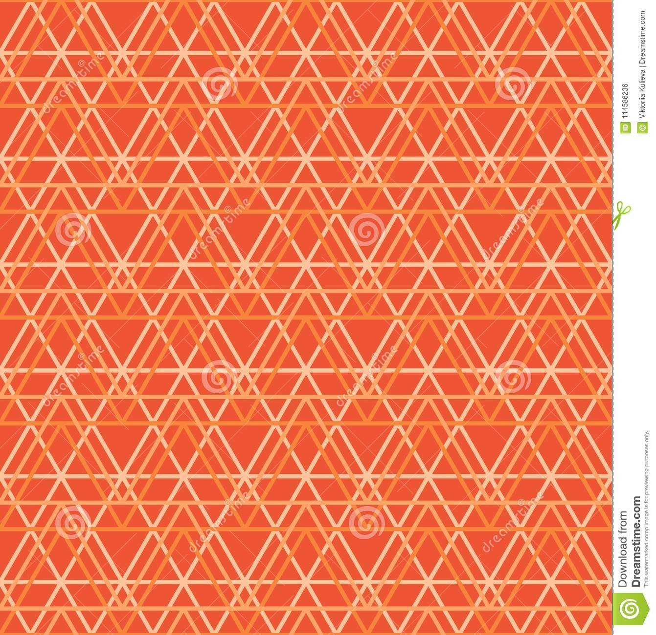seamless abstract geometric pattern orange triange background vector universal wallpaper seamless abstract geometric pattern 114586236