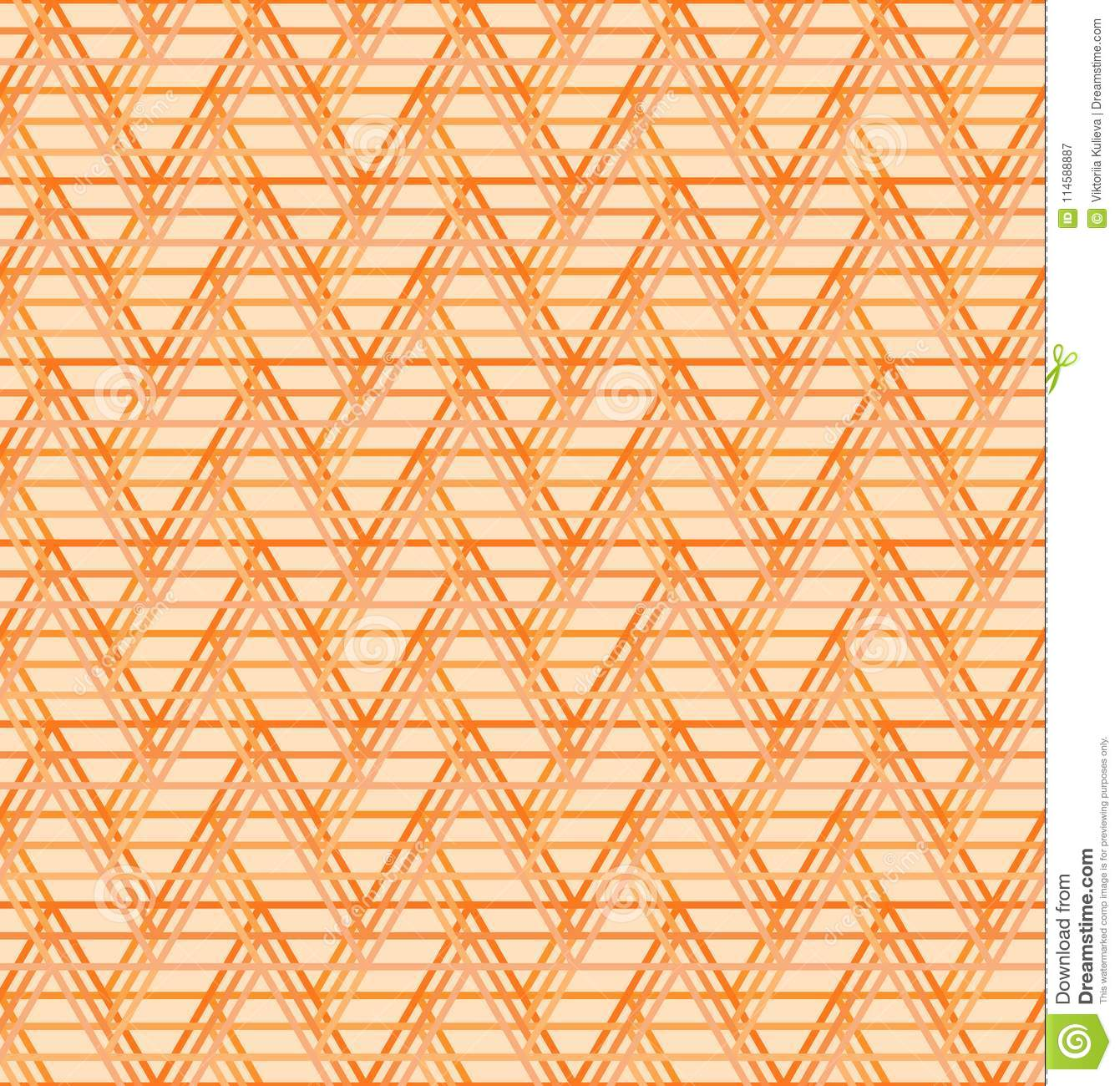 seamless abstract geometric pattern orange triange background vector universal wallpaper trianges 114588887