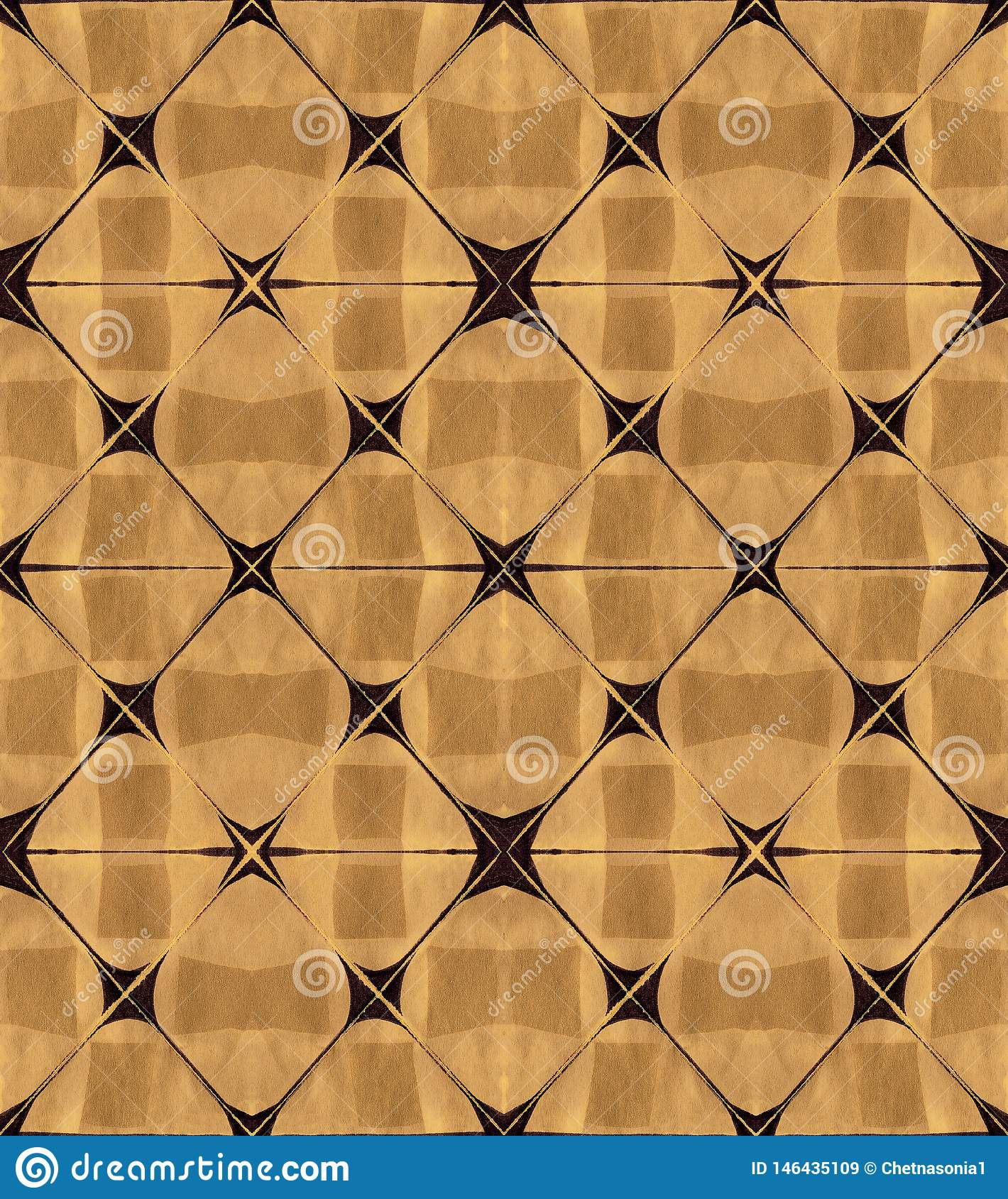 Seamless abstract geometrical pattern