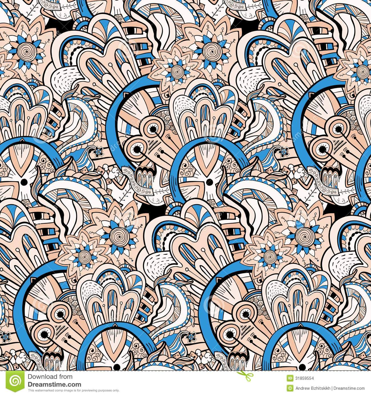 Can I Put Wallpaper On Top Of Wallpaper: Seamless Abstract Hand-drawn Pattern, Steampunk Background