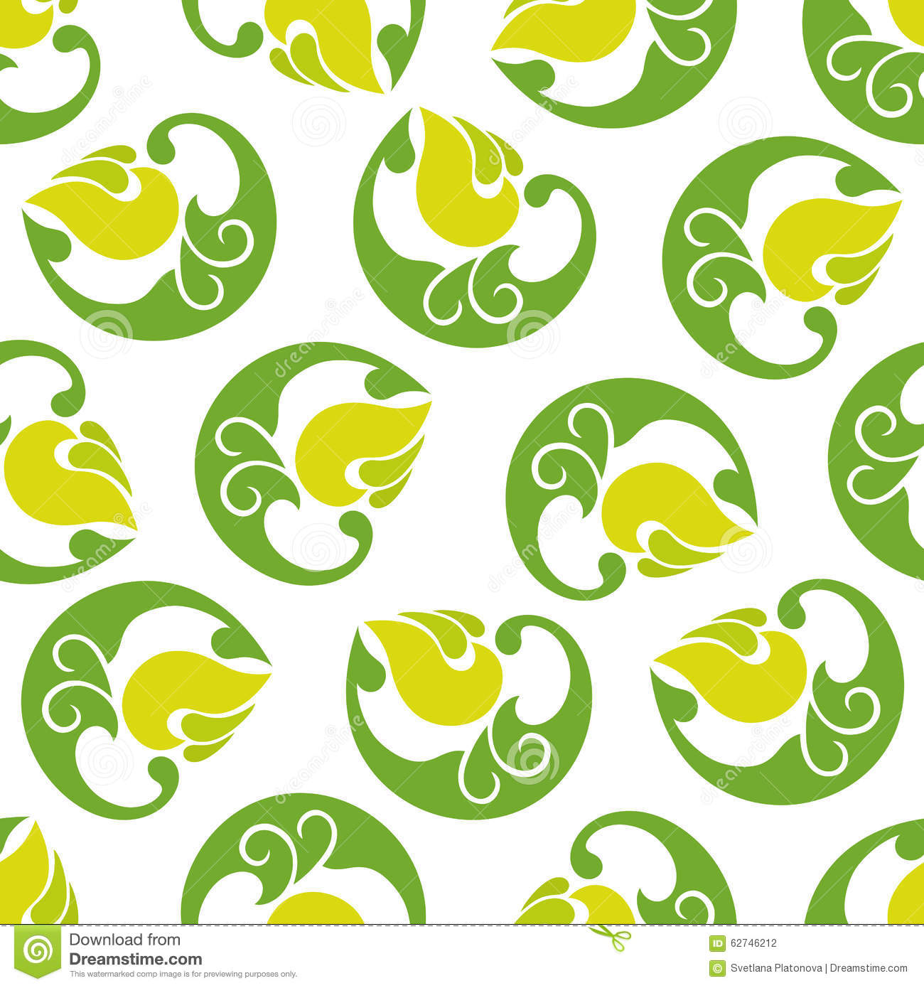 Light green and white pattern - photo#27