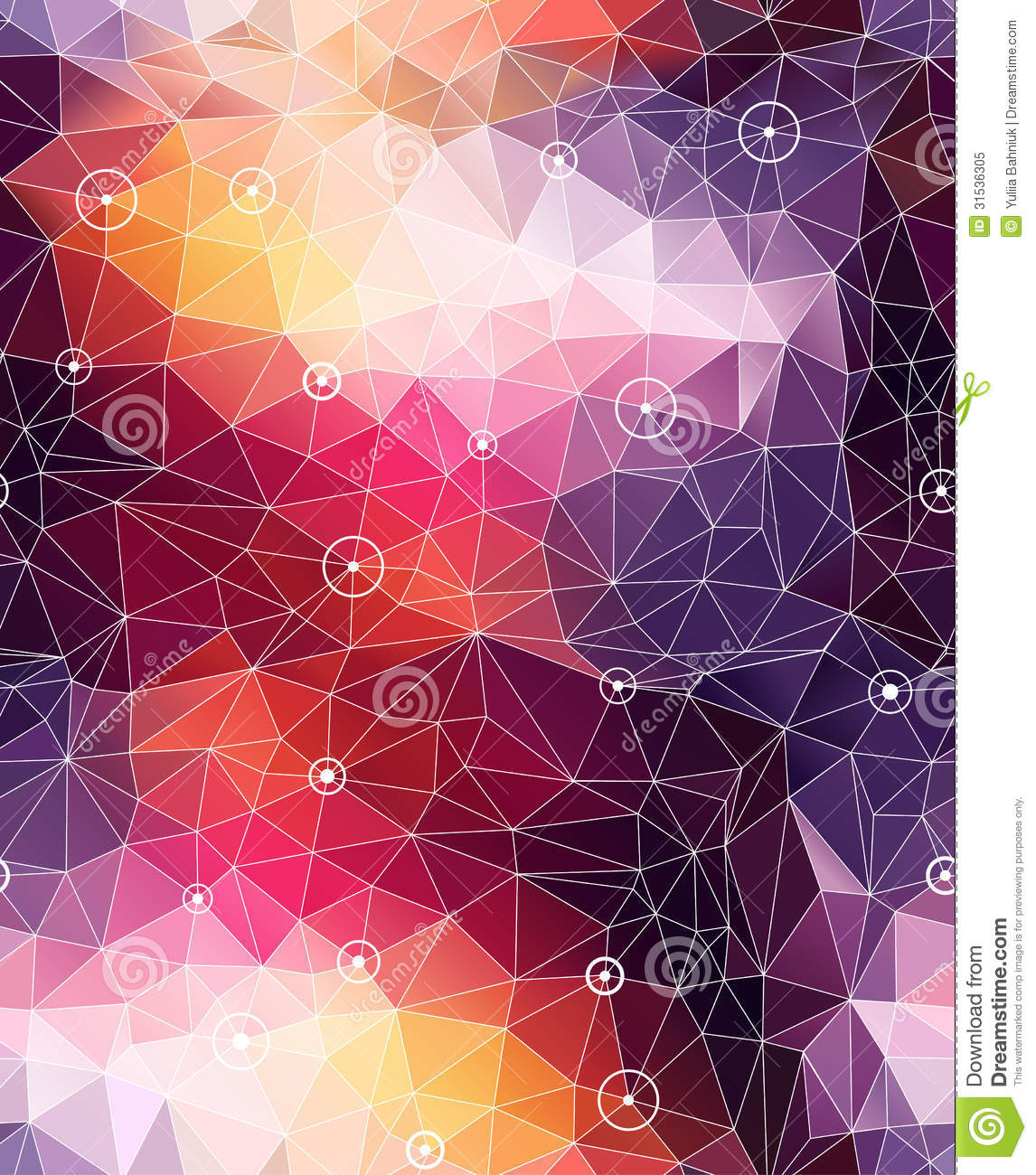 seamless abstract triangle colorful pattern backgr stock vector