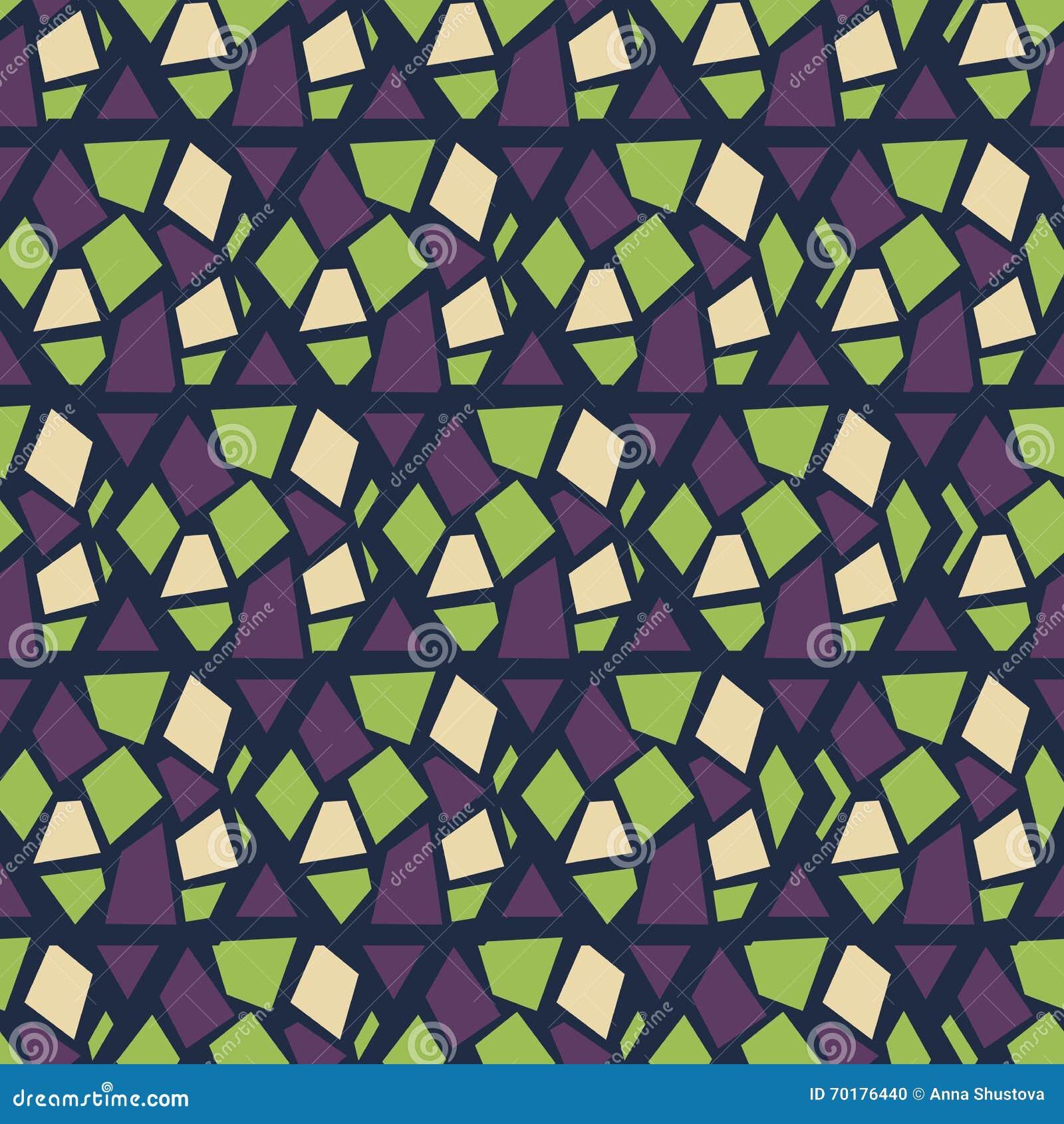 Seamless abstrakt modell Uppsättning rhombus