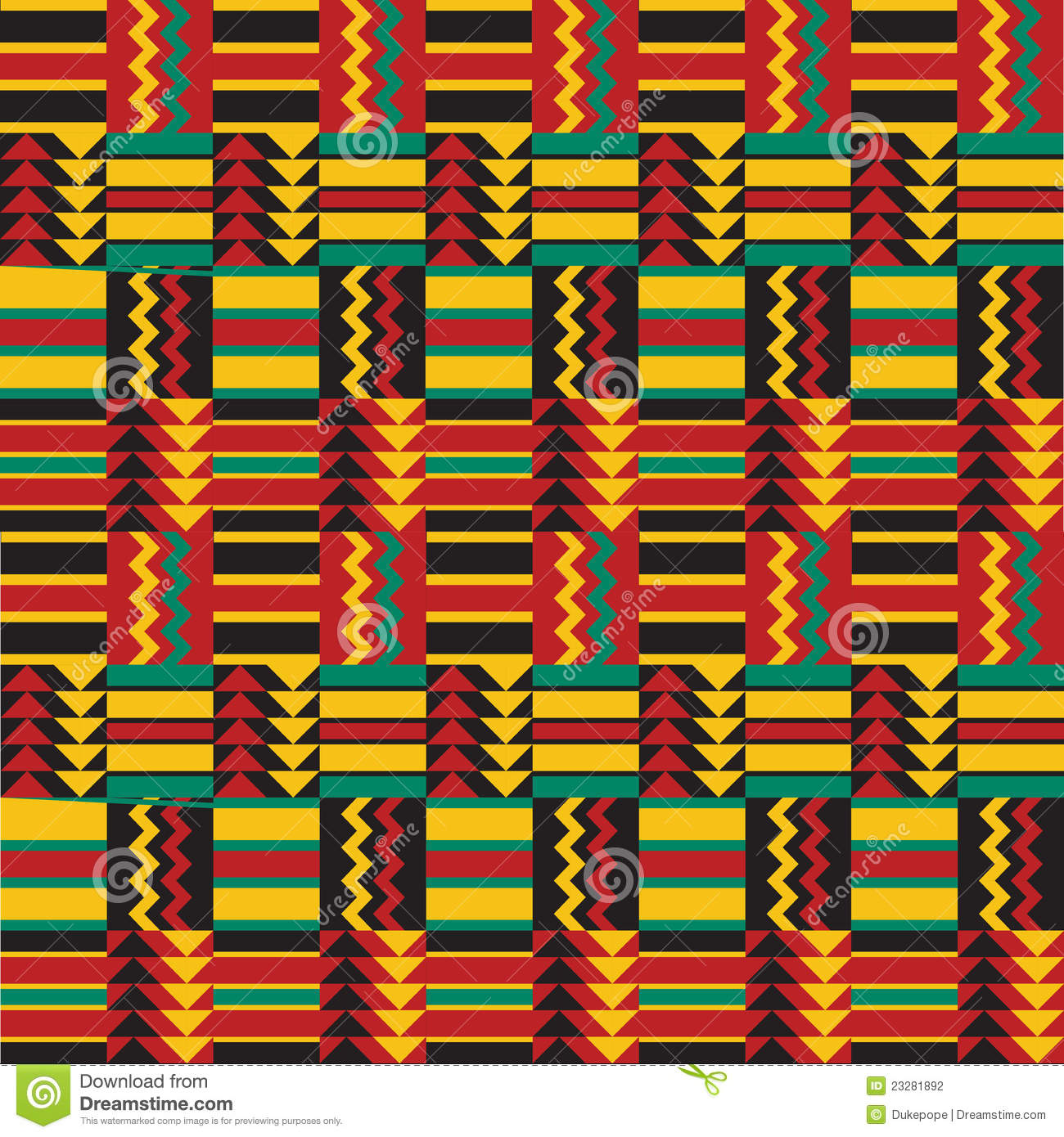 Seamless African Pattern stock vector. Illustration of ... Traditional African Patterns