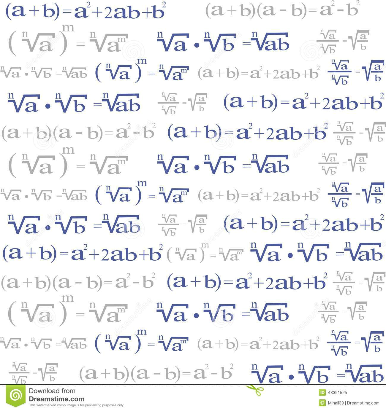 Seamless with algebra symbols for background stock vector seamless with algebra symbols for background biocorpaavc Choice Image