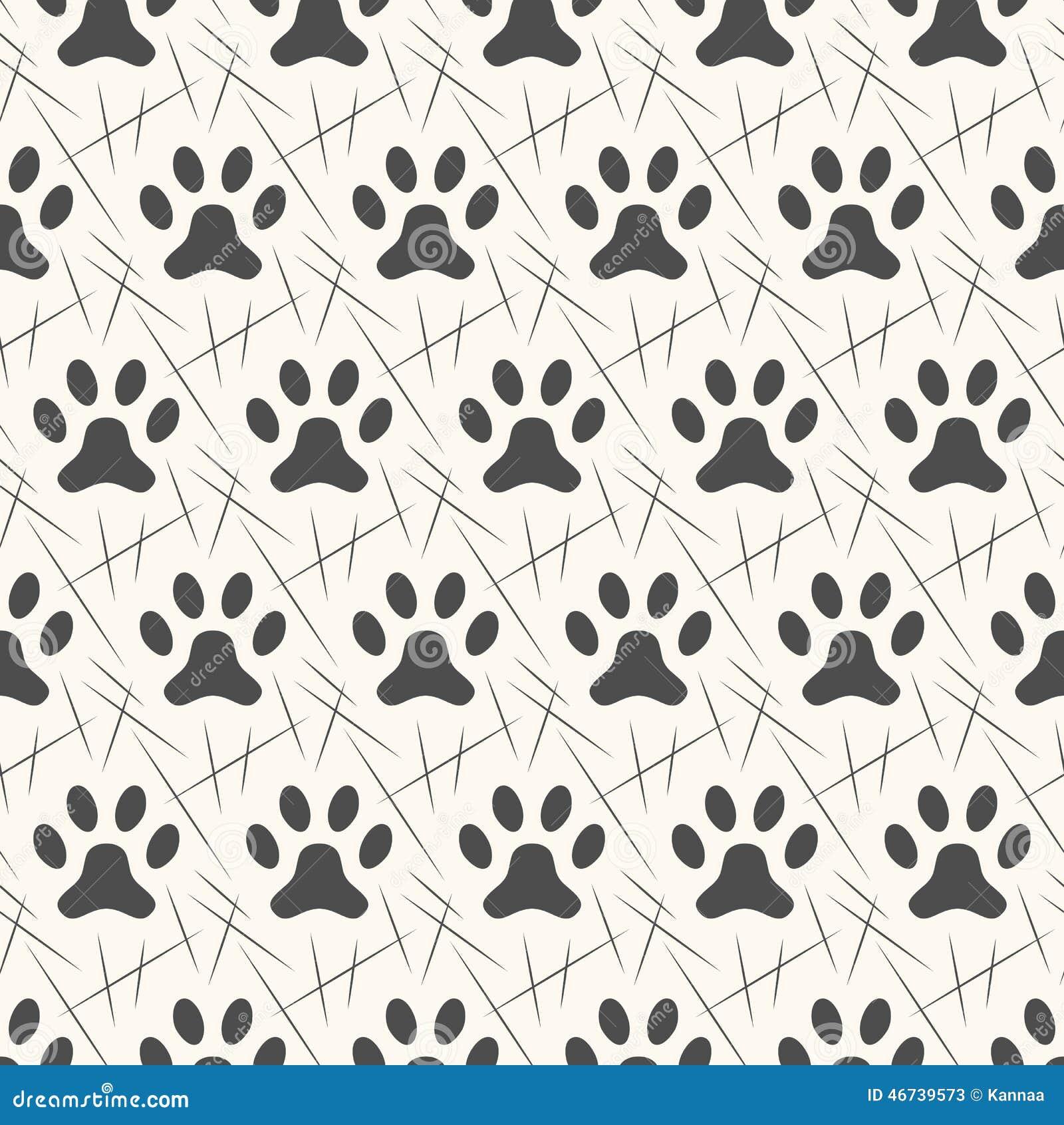 Animal foot prints patterns - photo#15
