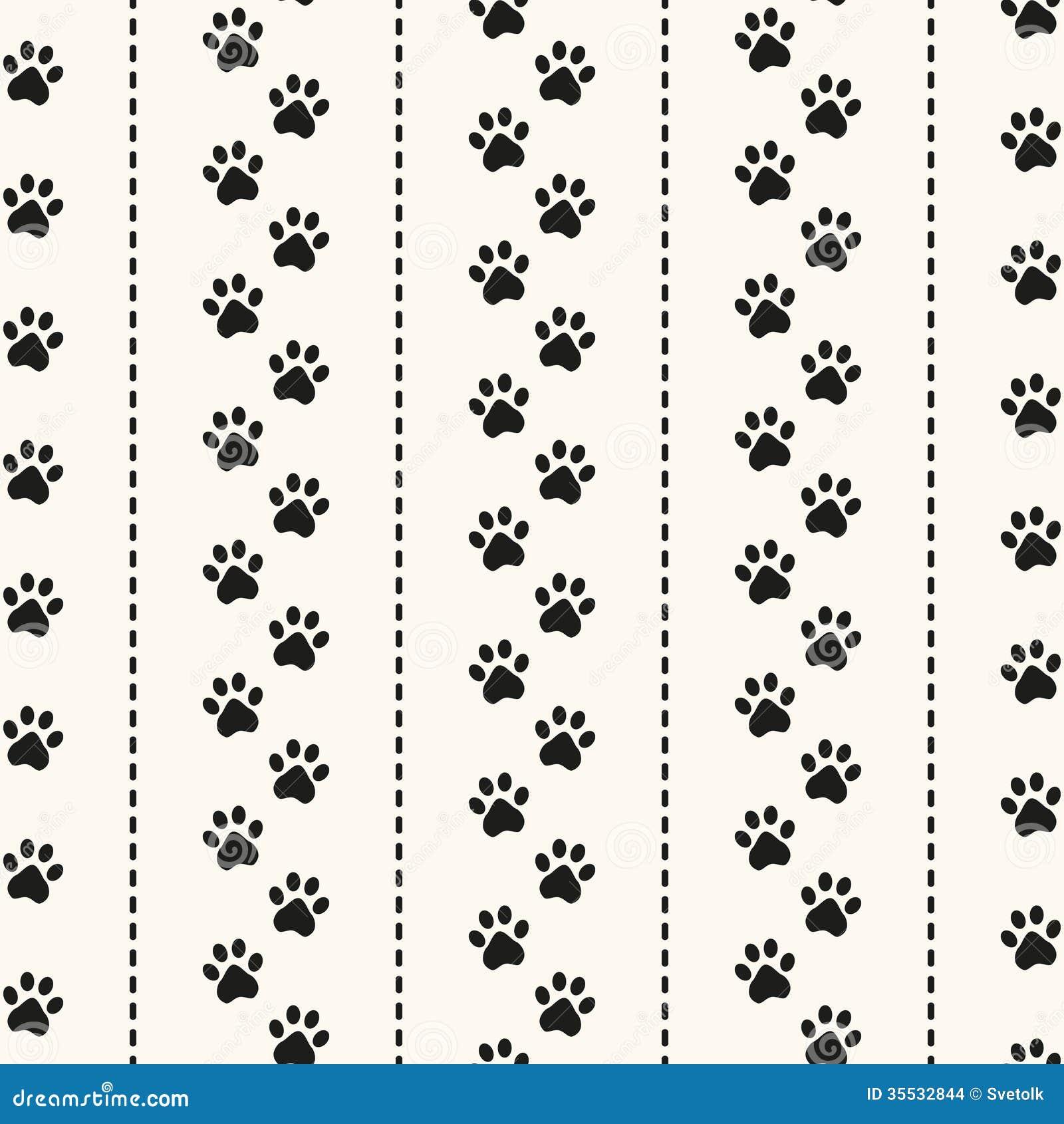 Animal foot prints patterns - photo#28