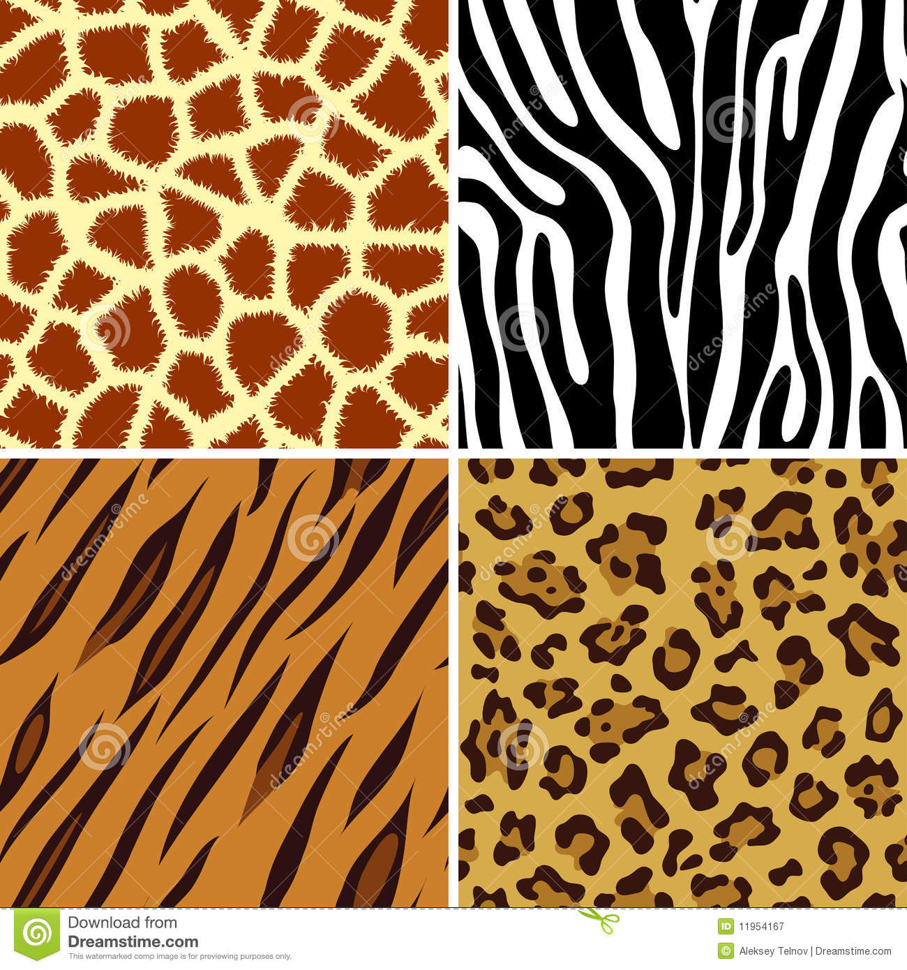 seamless animal print royalty free stock photography - Animal Pictures To Print Free