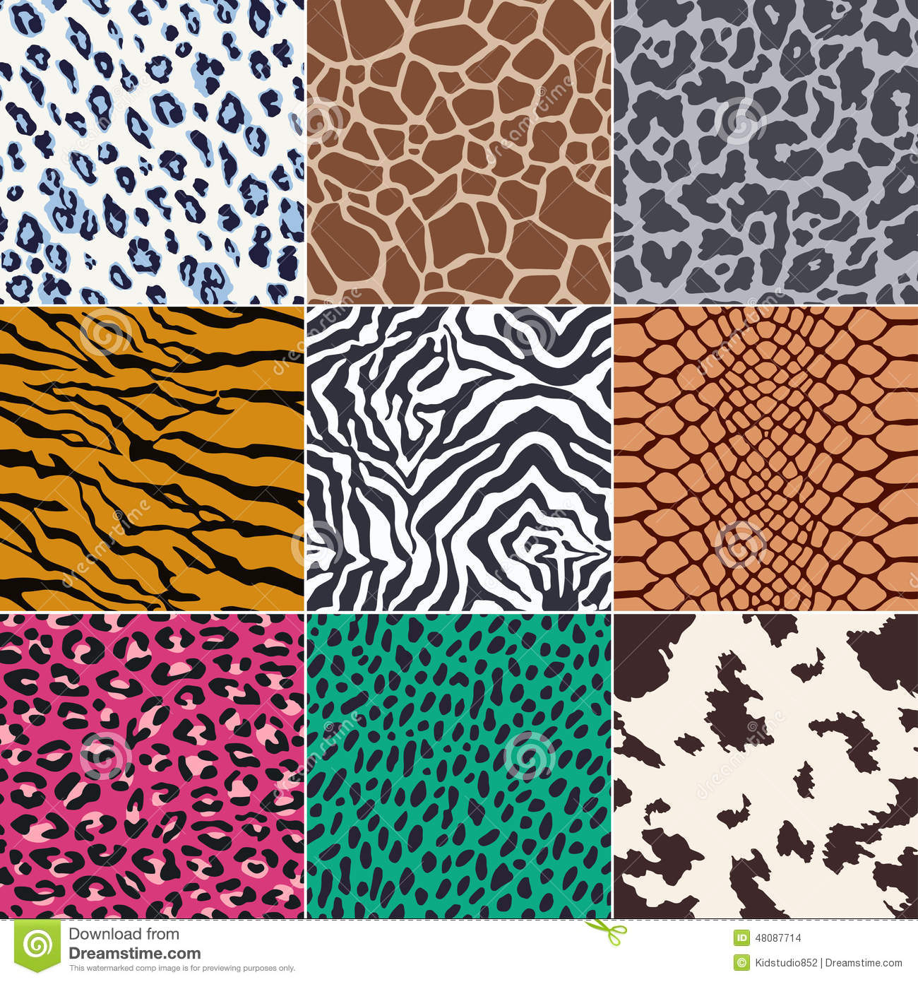animal skin patterns seamless - photo #26