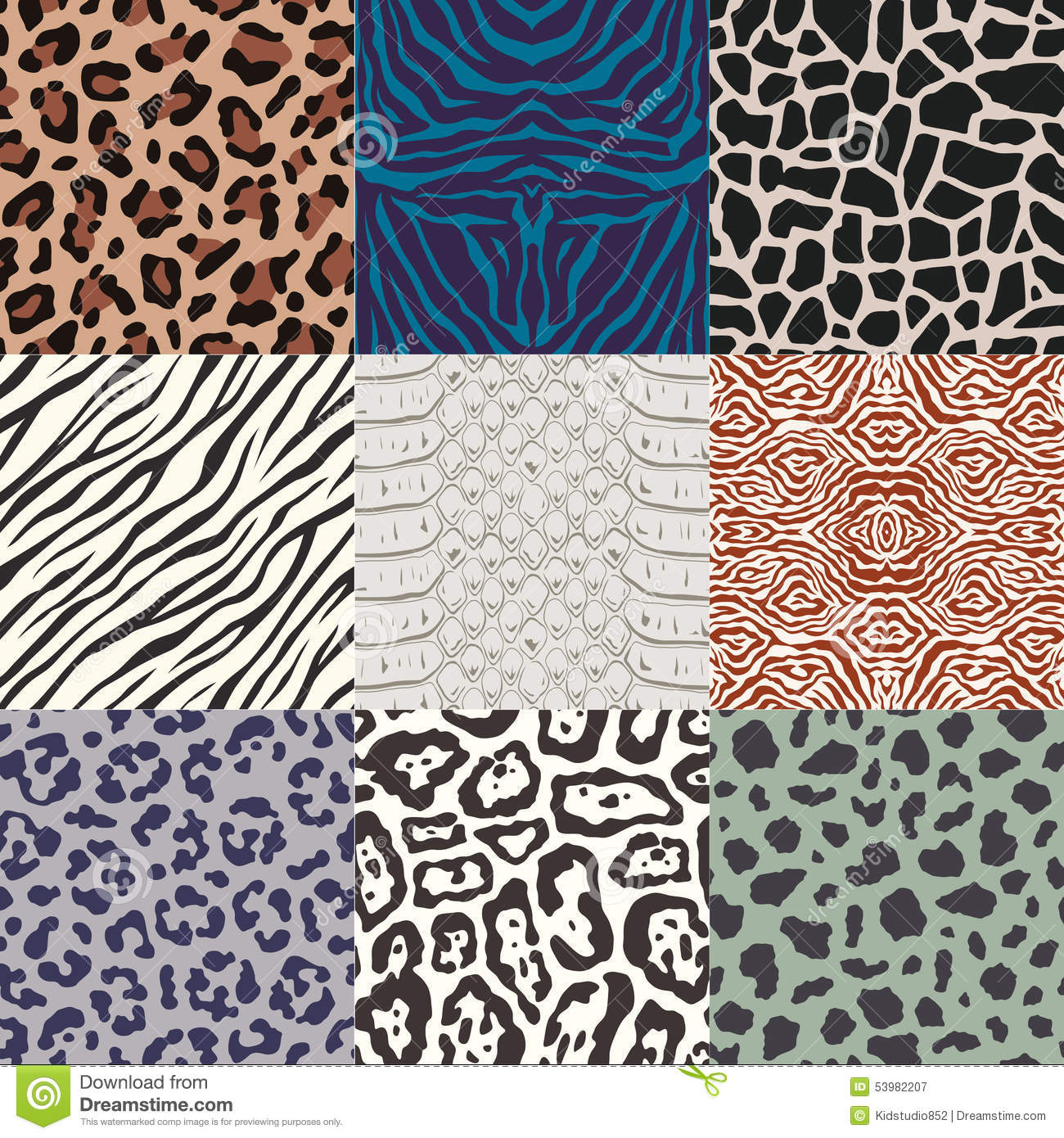 animal skin patterns seamless - photo #24