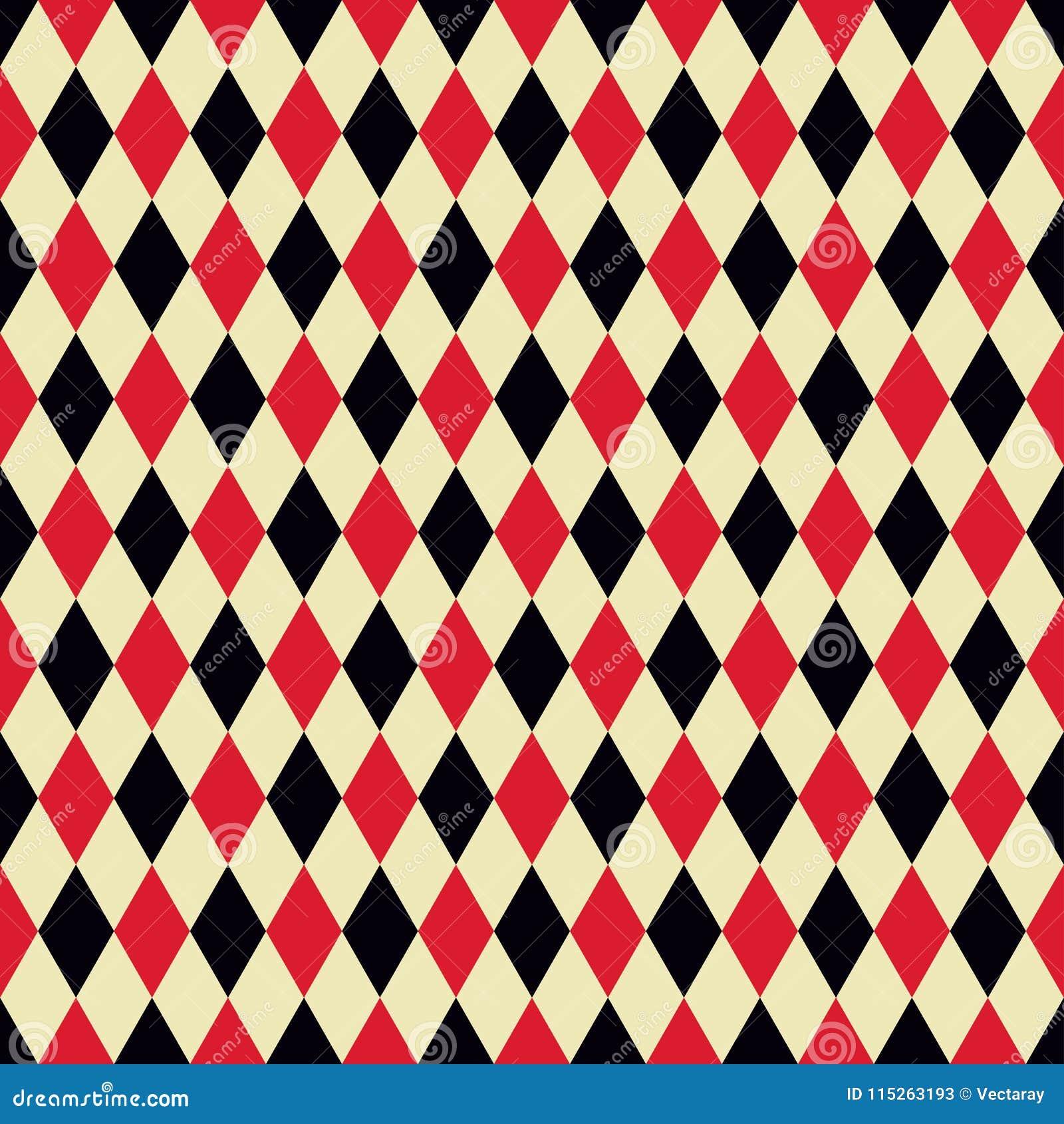 Seamless Argyle Fabric Pattern Background