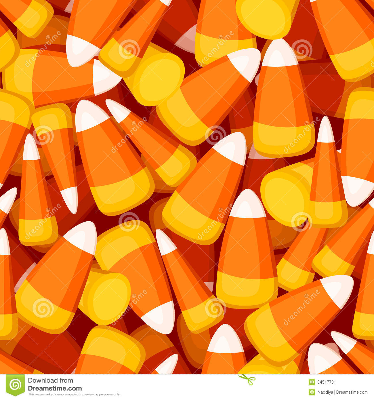 seamless background with candy corn stock image image