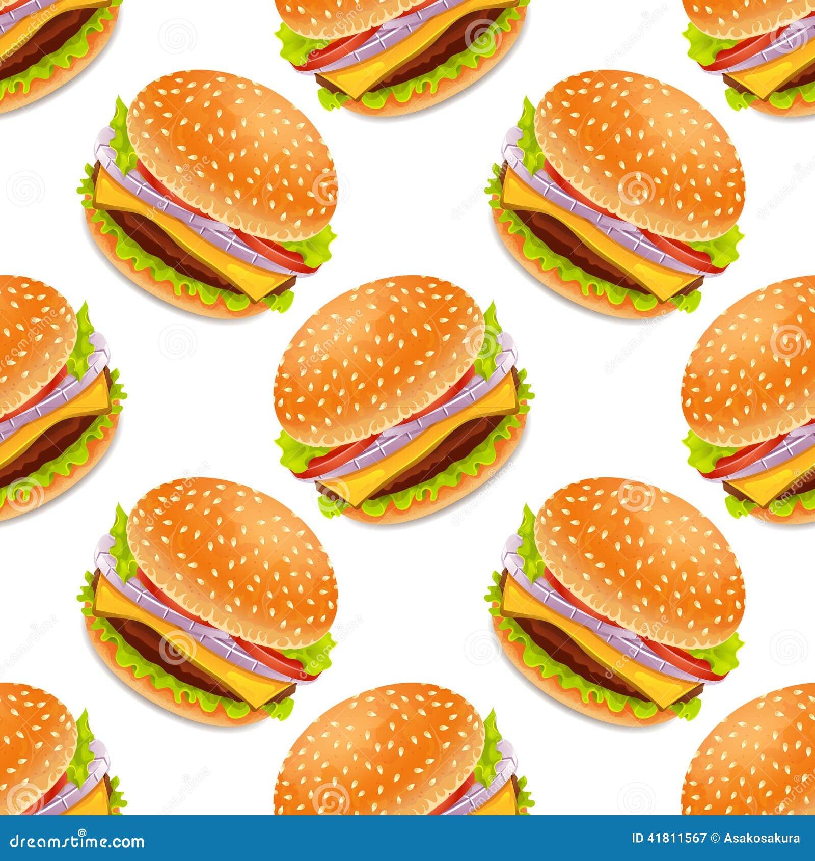 cartoon hamburger wallpaper - photo #6
