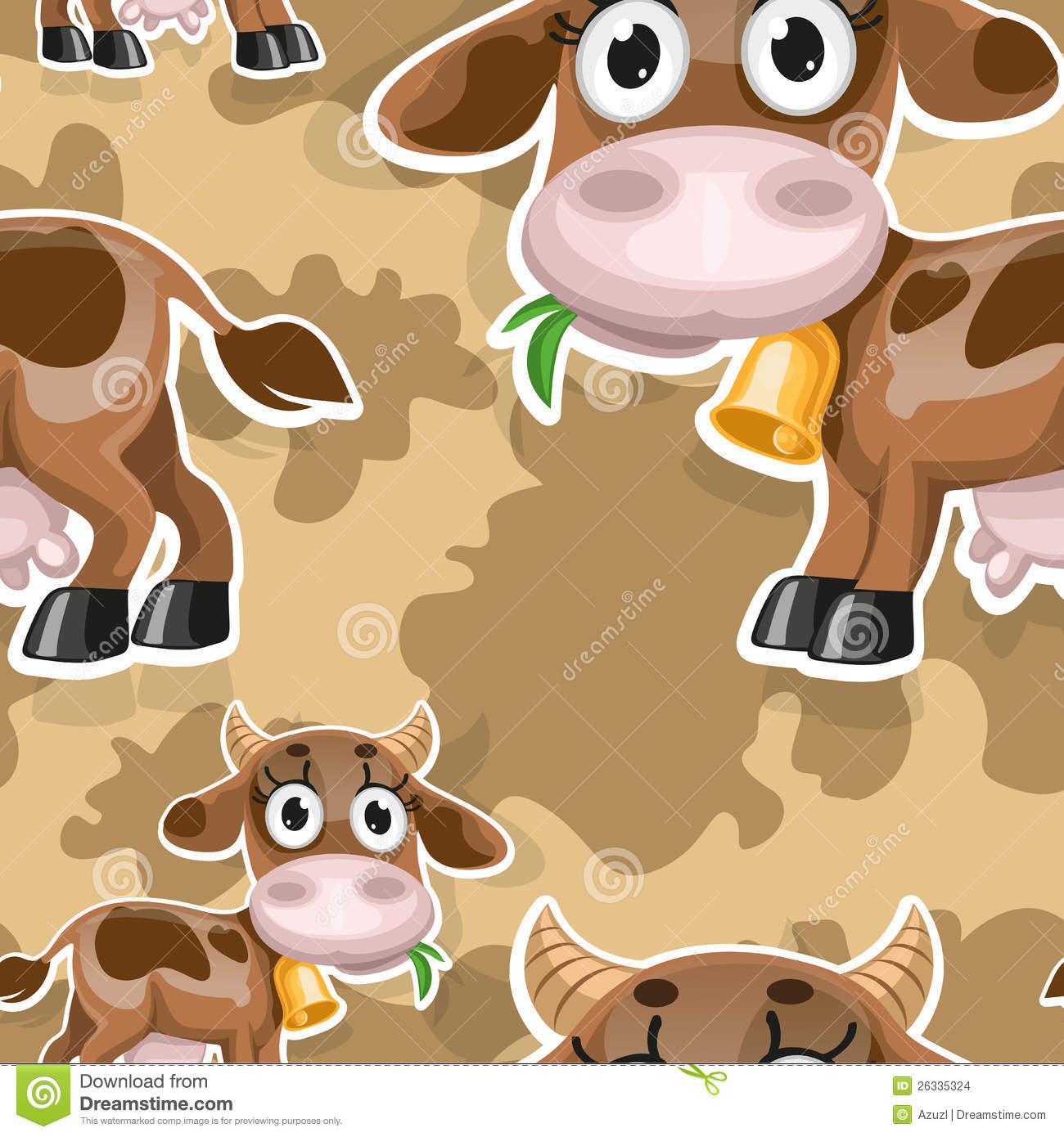 Baby cow backgrounds