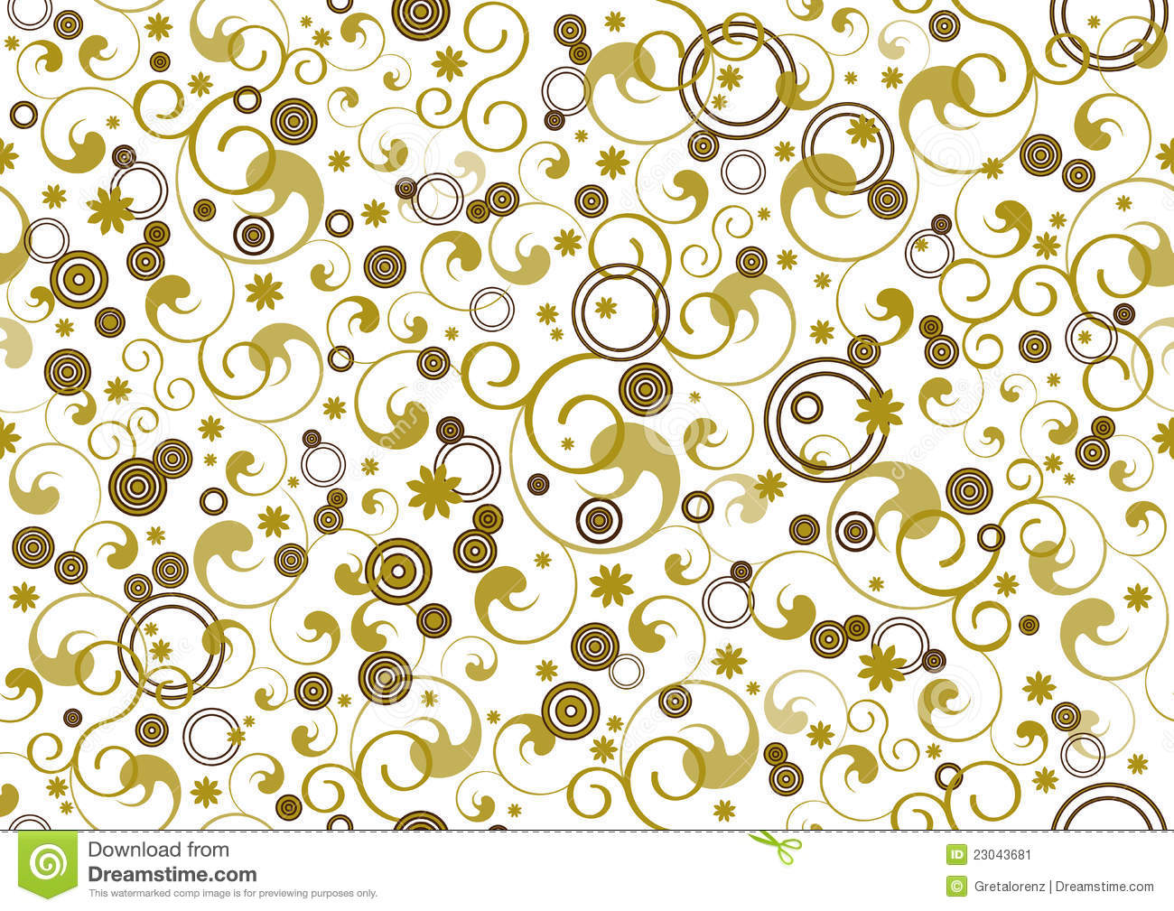 Seamless background decoration for gift paper stock vector - Papeles de decoracion ...