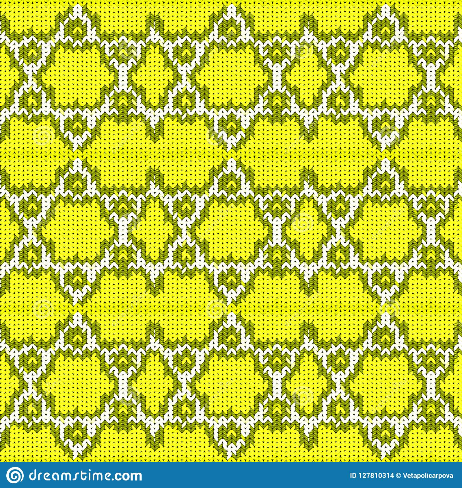Seamless Background With A Knitted Texture, Imitation Of ...