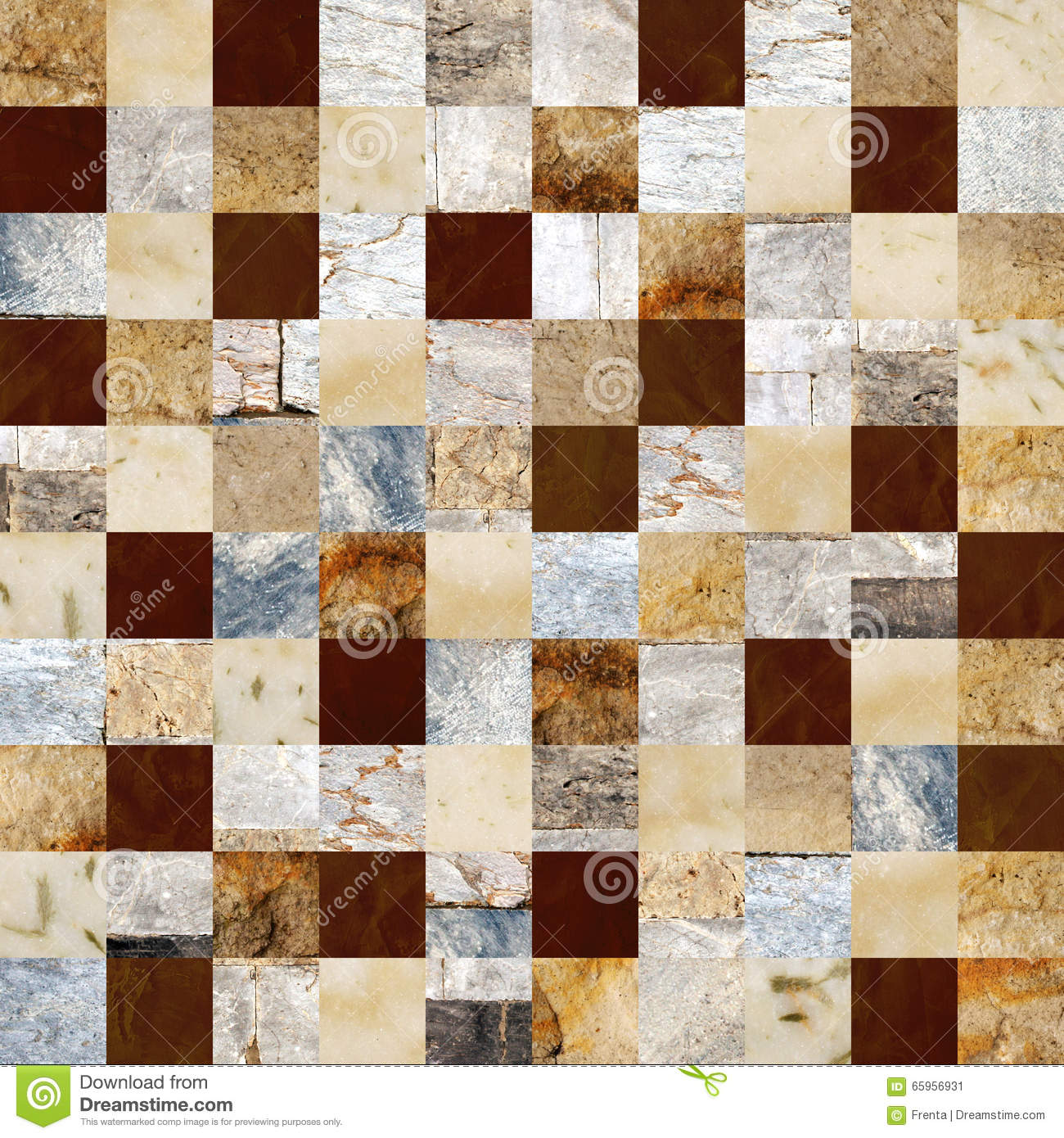 Different Colors Of Marble : Seamless background with marble and stone patterns stock