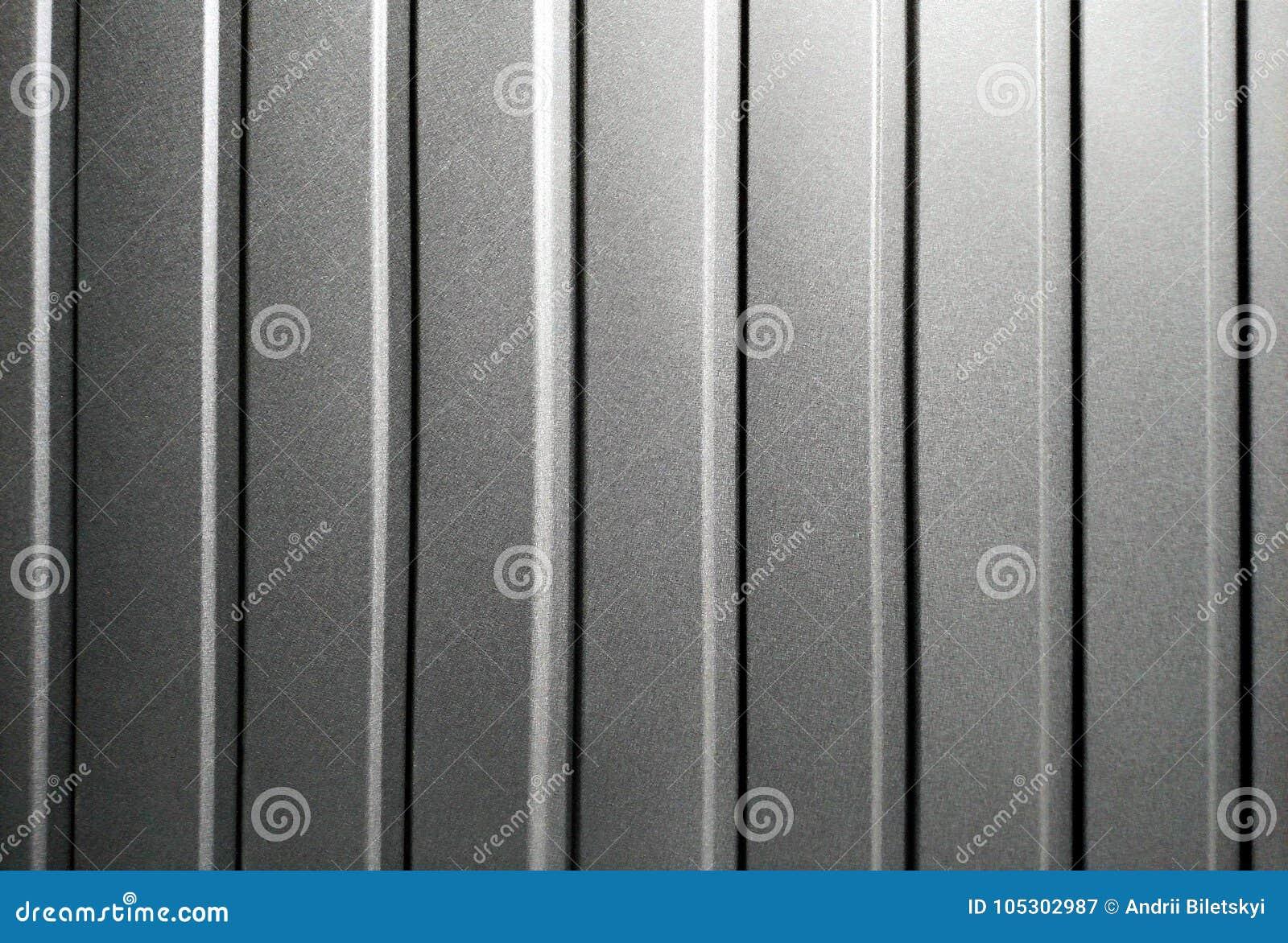 Seamless Background Of Metal Corrugated Sheet Profiled