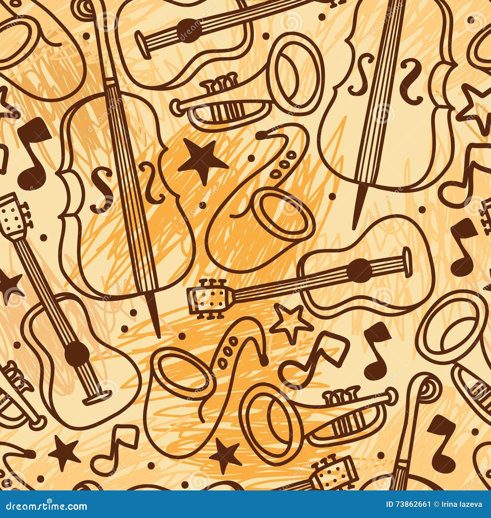 wallpaper musical instruments 3d