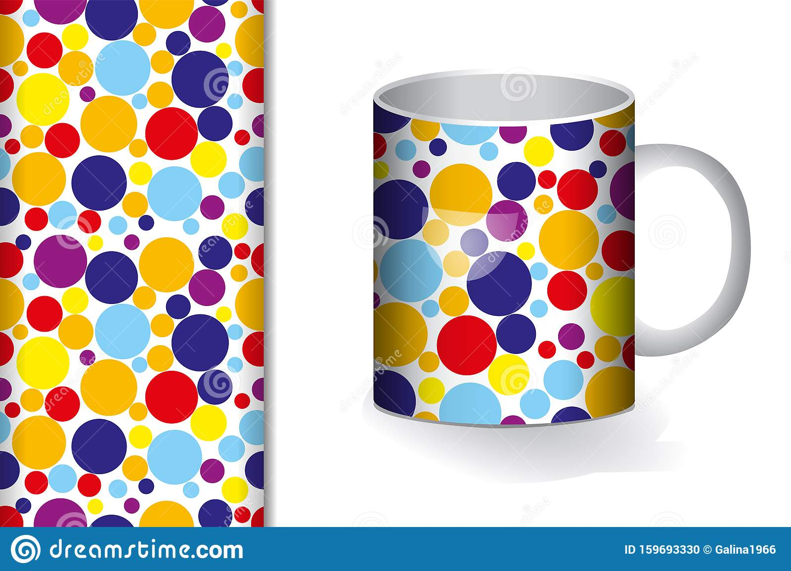 Download Background Mug Printing Design