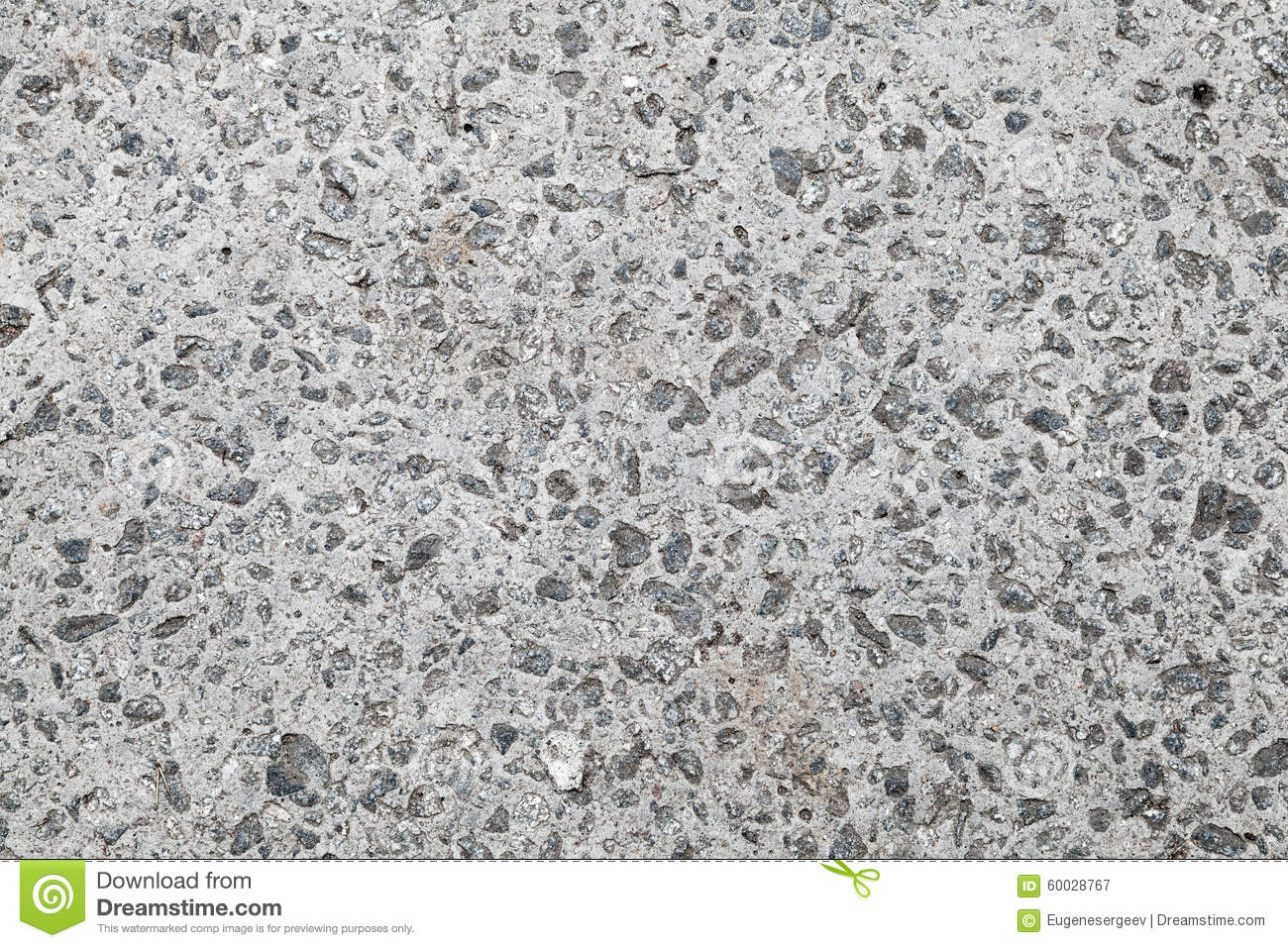 Seamless Background Texture Of Gray Concrete Wall Stock