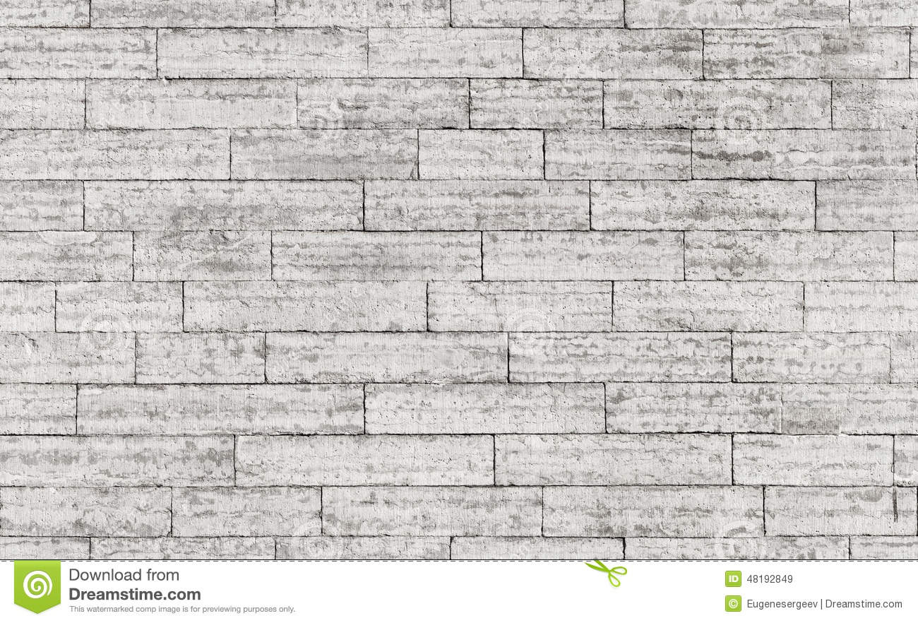 Seamless background texture of gray stone brick wall