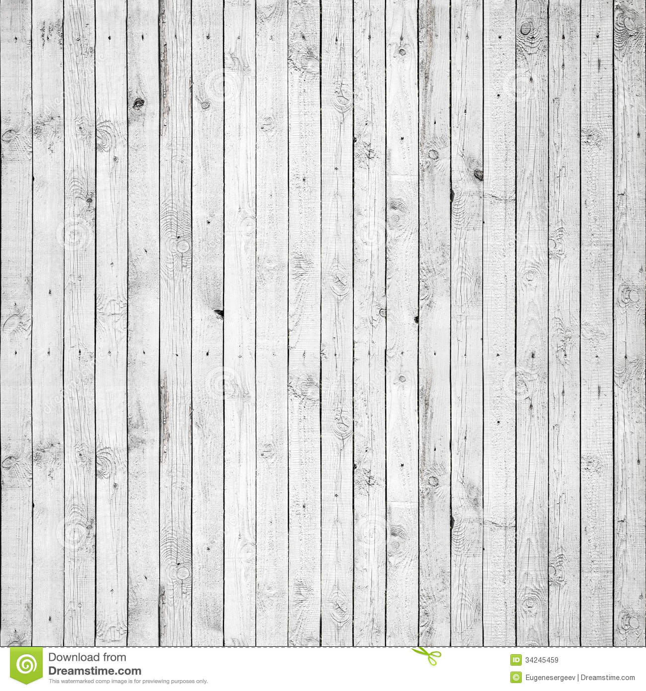 Seamless Background Texture Of White Wood Royalty Free