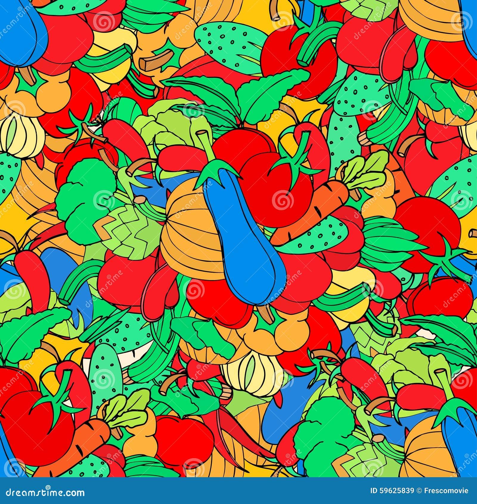 Background Of Vegetabl...