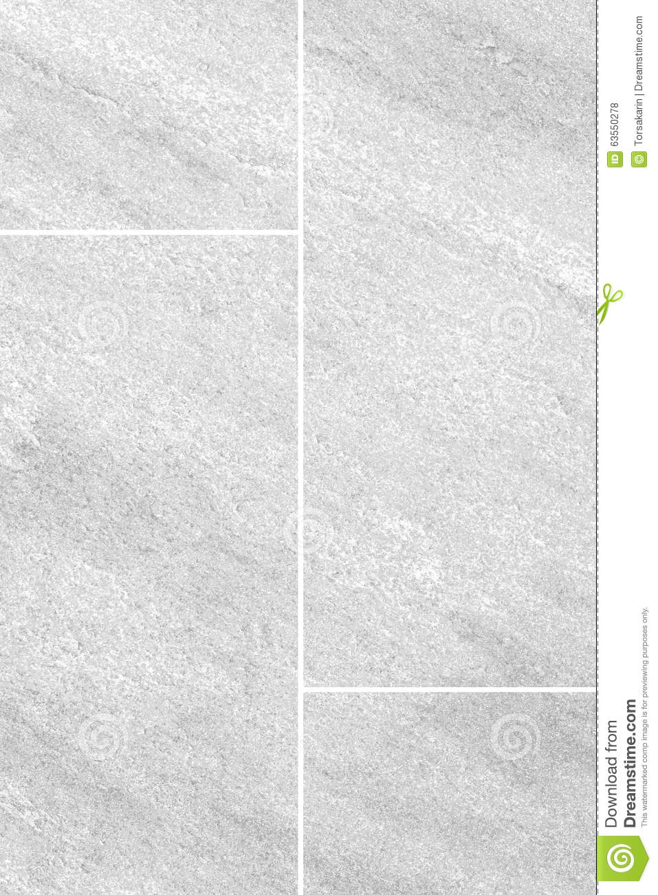 Seamless Background Of White Granite Stone Floor