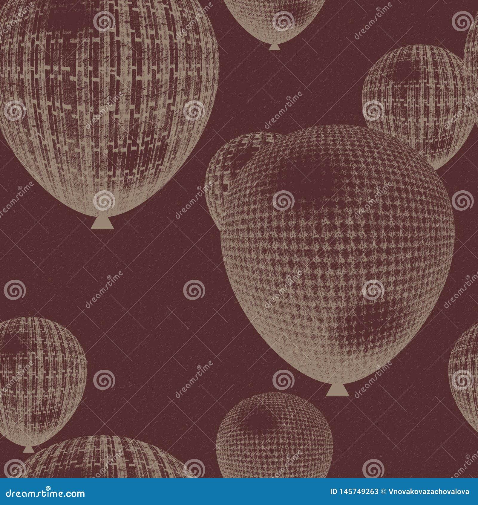 Seamless bakgrundsballong