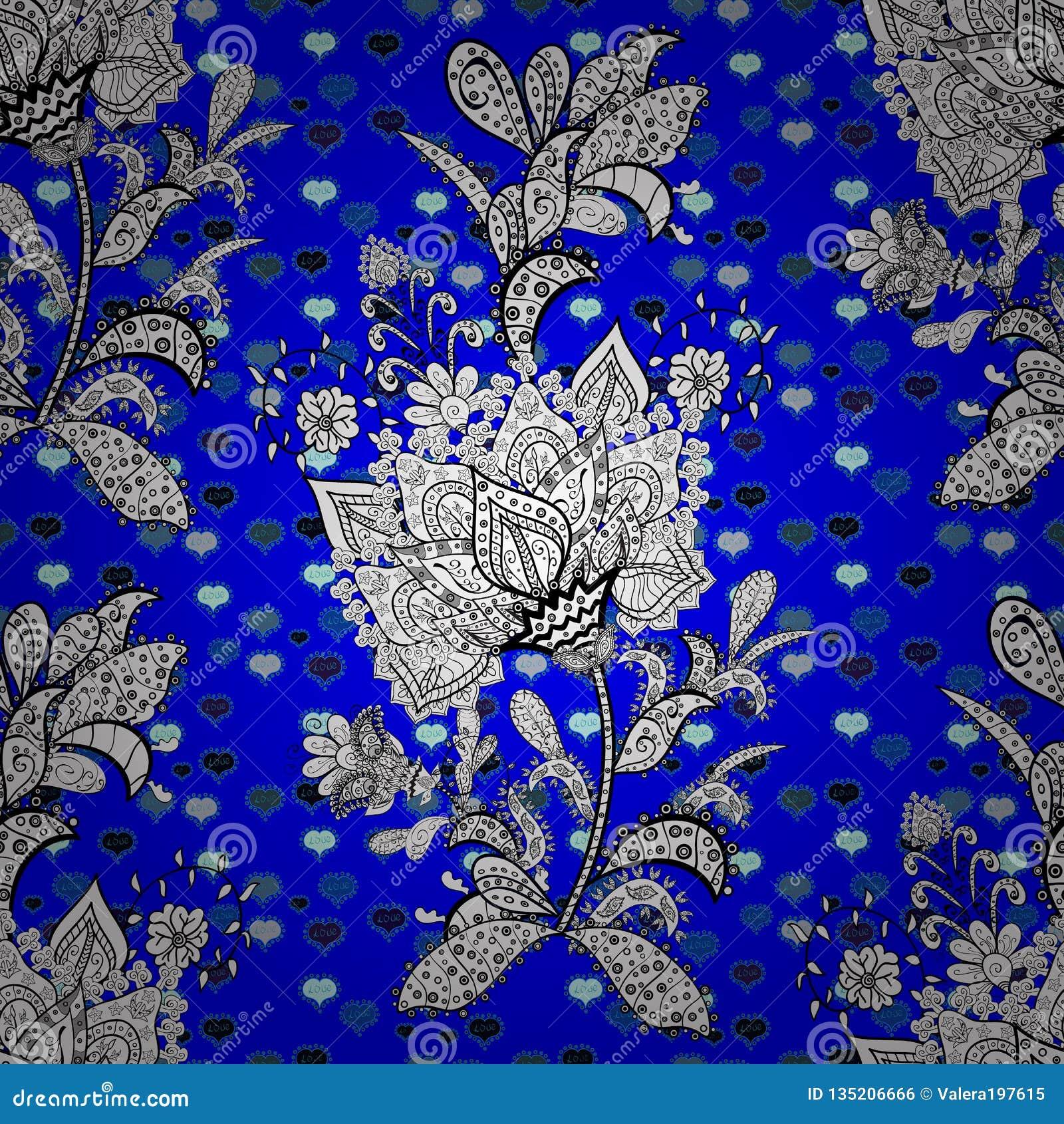 Seamless Beautiful Fabric Pattern Stock Illustration Illustration Of Fashion Exclusive 135206666