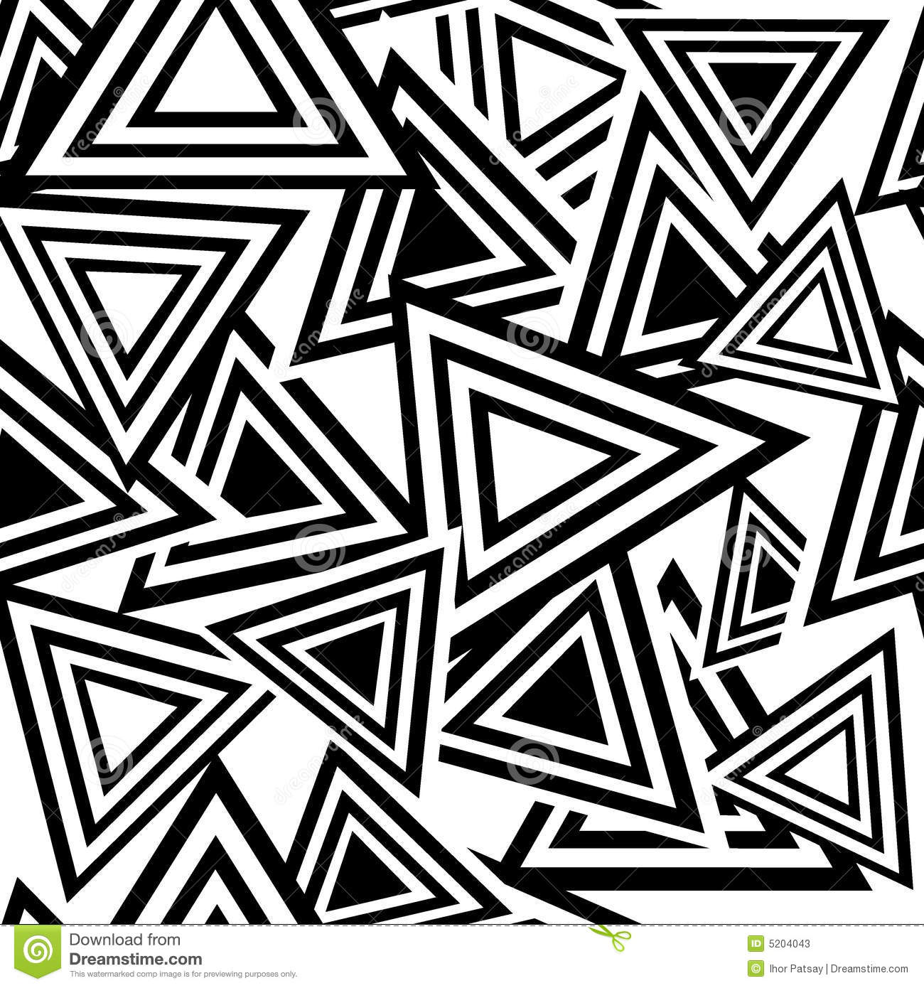 Cool Black And White Triangle Patterns Images & Pictures - Becuo