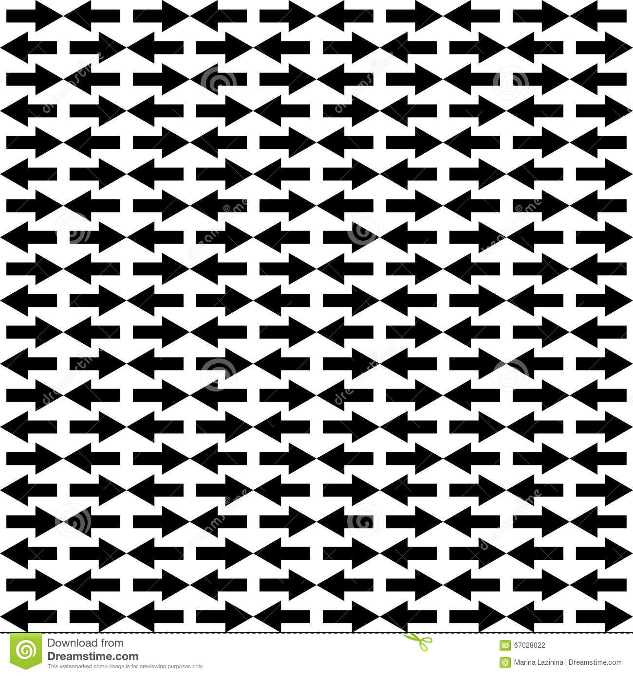 Seamless Black And White Background With Abstract Geometric Shapes ... for Geometric Shapes Design Black And White  186ref