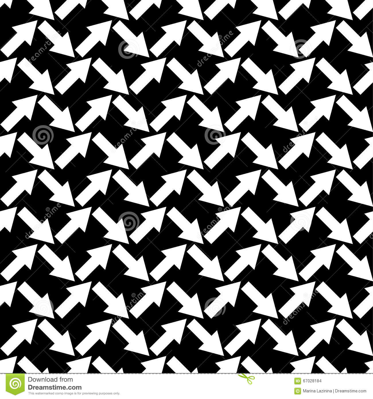 Seamless Black And White Background With Abstract Geometric Shapes ... for Geometric Shapes Design Black And White  285eri