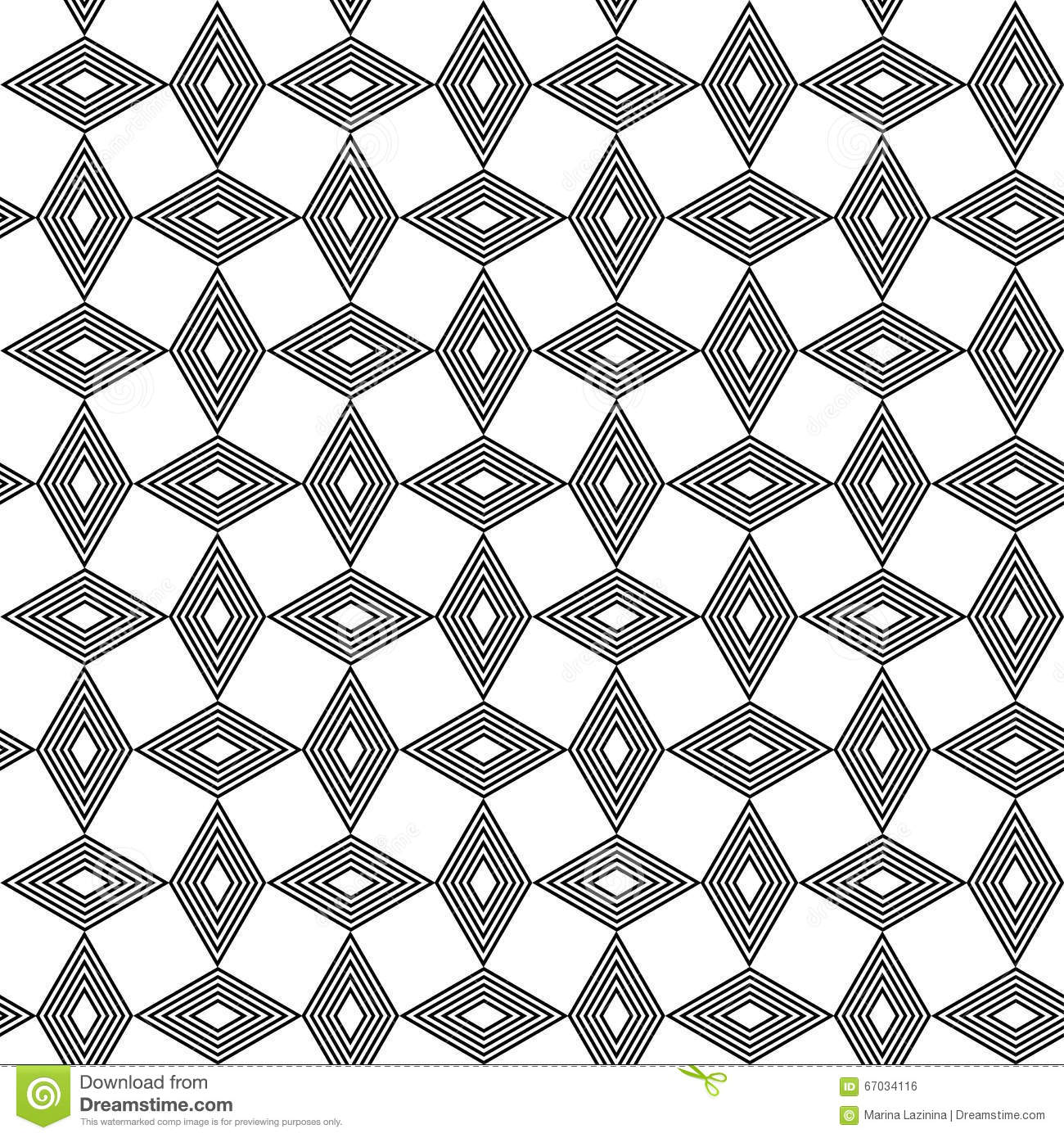 Seamless Black And White Background With Abstract Geometric Shapes ... for Geometric Shapes Design Black And White  61obs