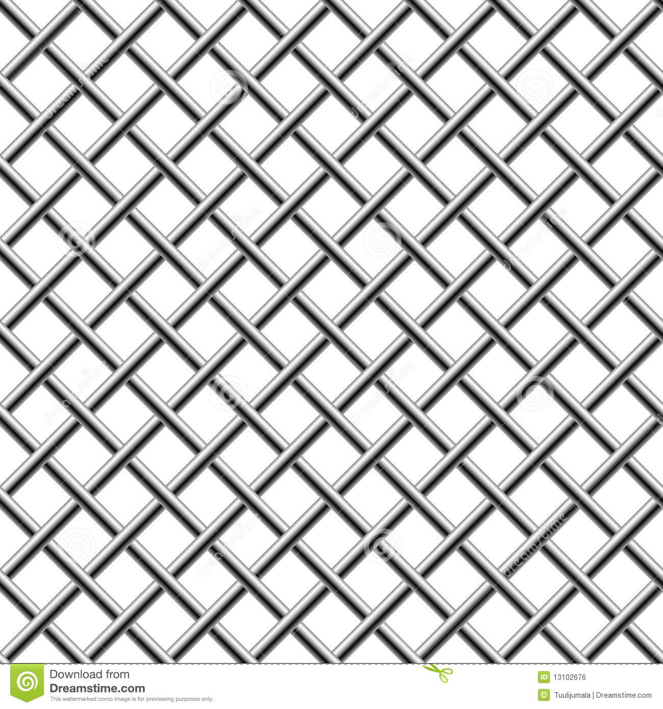 seamless braided diagonal grille stock vector illustration of