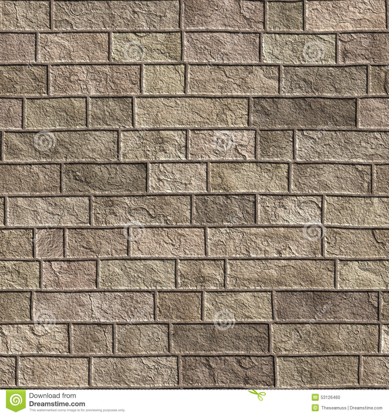 Seamless brick texture (wall background