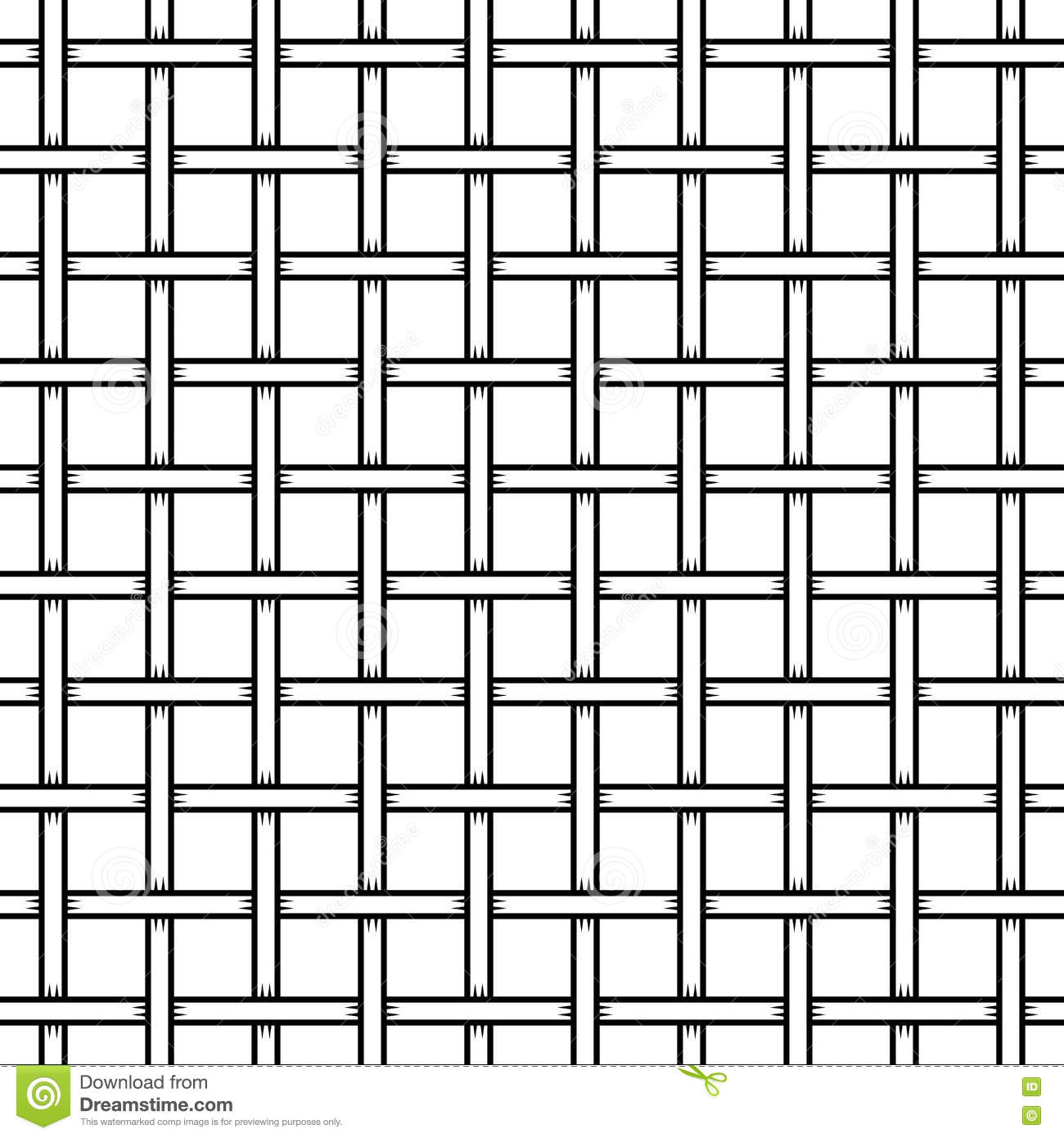 Seamless Cage Texture. Wire Mesh. Vector Illustration 65349383 ...