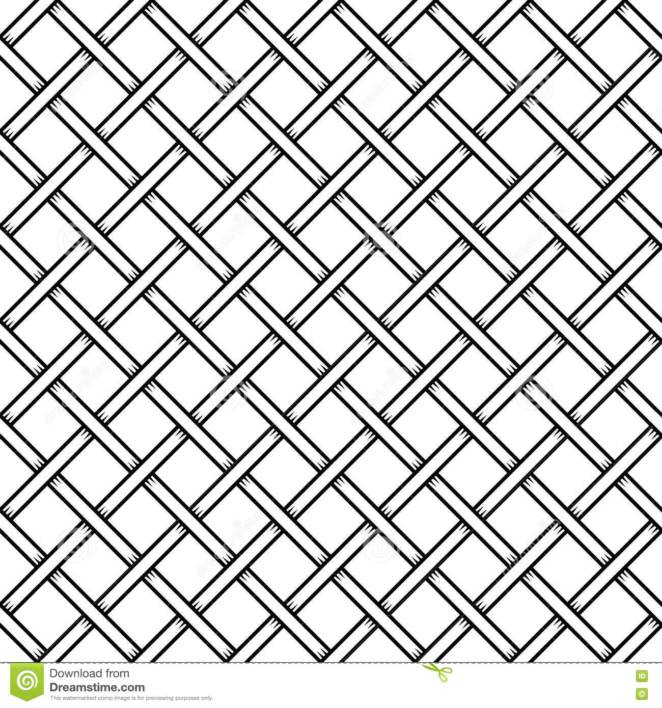 Seamless Cage Texture. Wire Mesh. Vector Illustration 65349934 ...