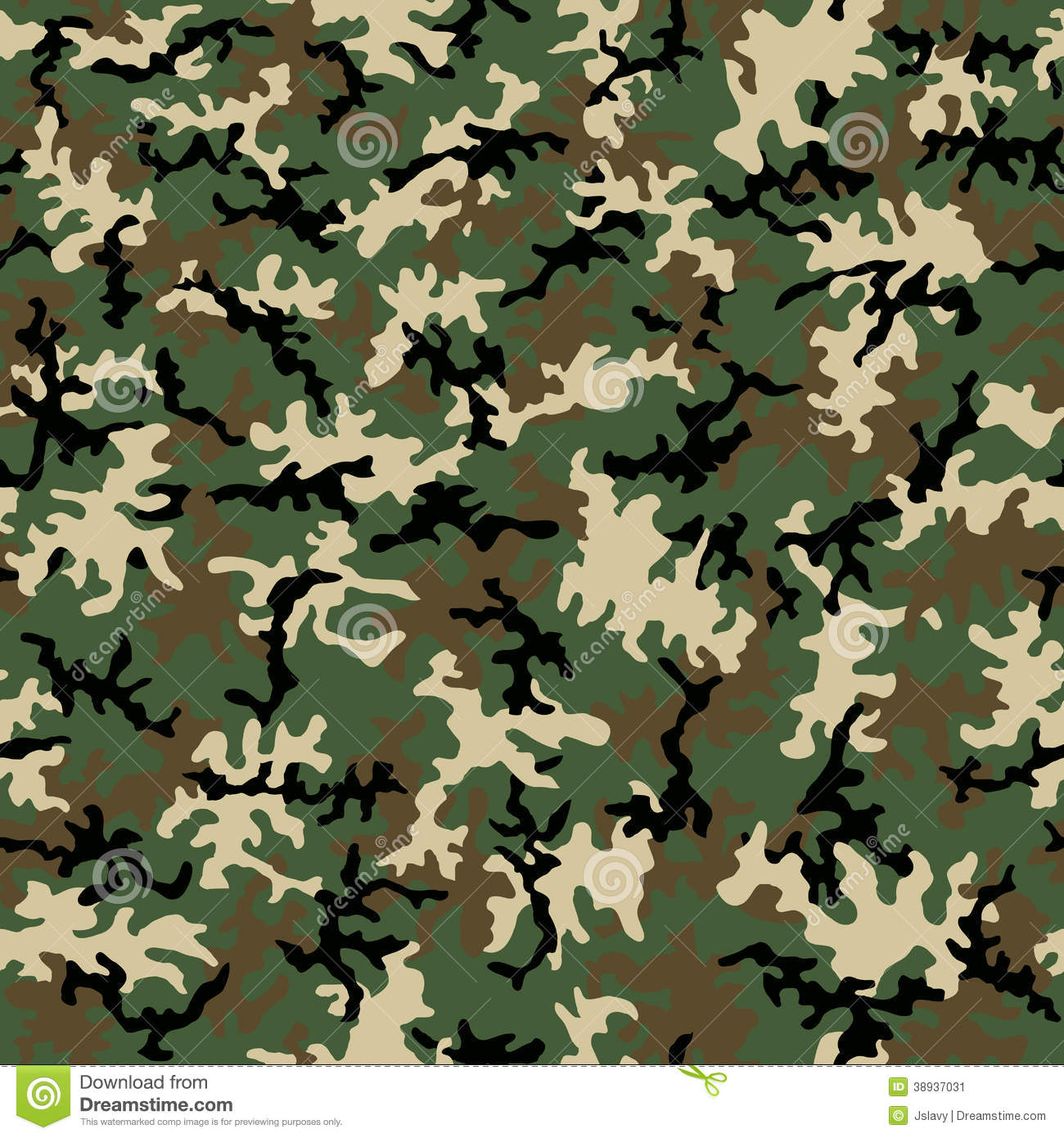 Seamless Camo Pattern